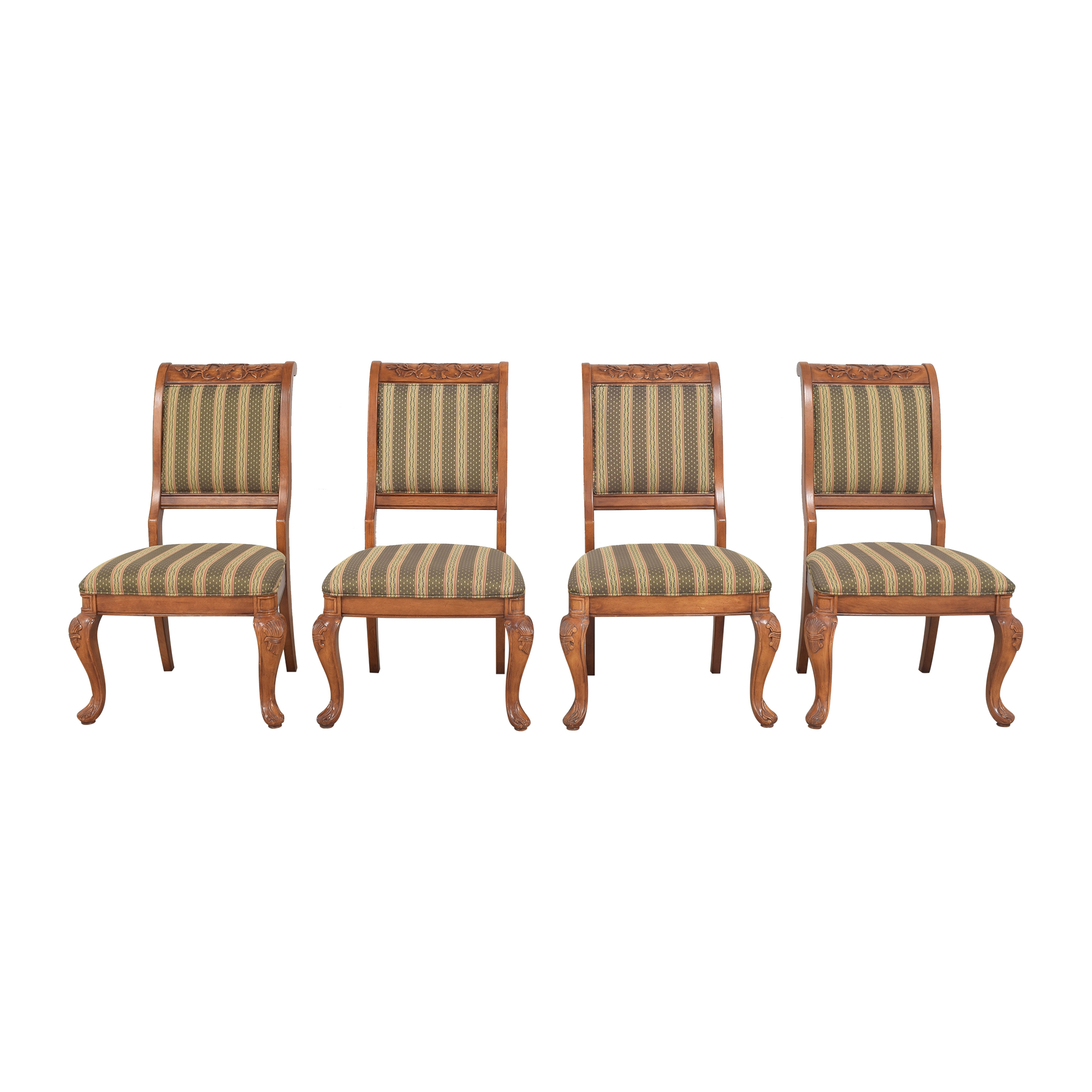 Hyundai Furniture Hyundai Stripe Dining Chairs discount