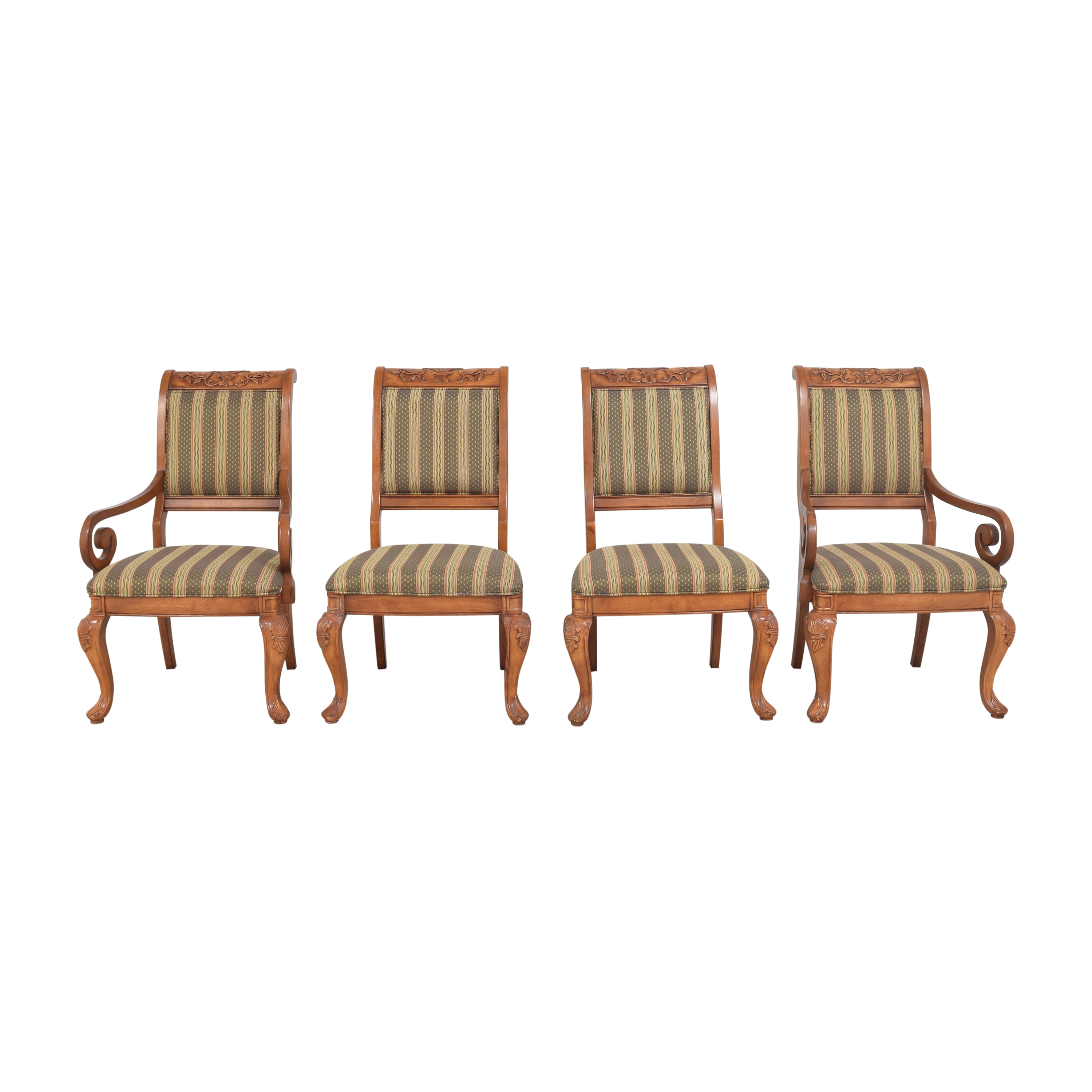 Hyundai Stripe Dining Chairs sale
