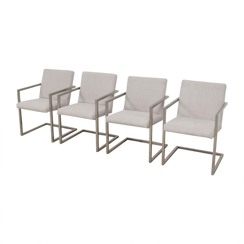 Room & Board Room & Board Lira Dining Arm Chairs ma