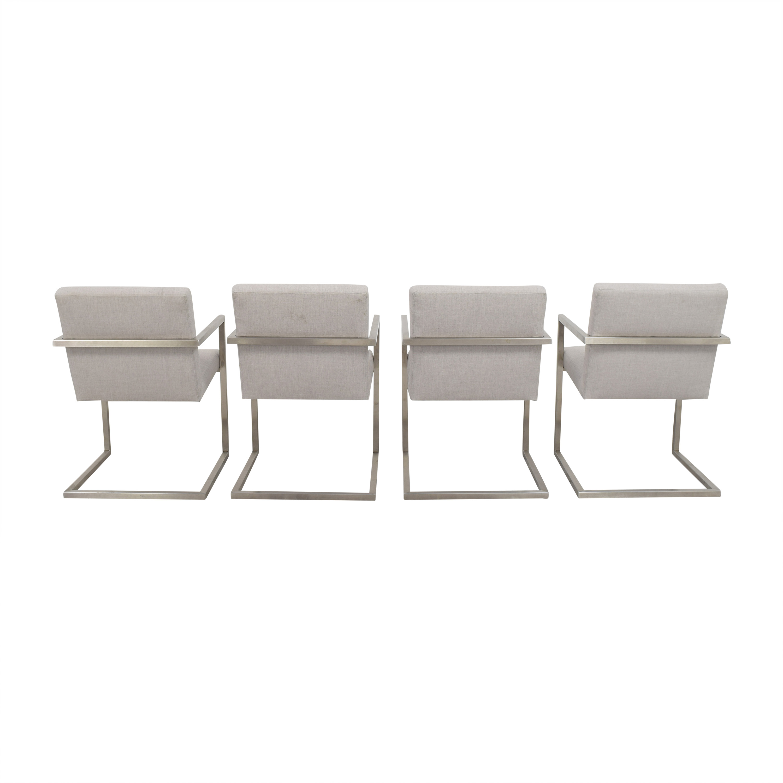 Room & Board Room & Board Lira Dining Arm Chairs nyc