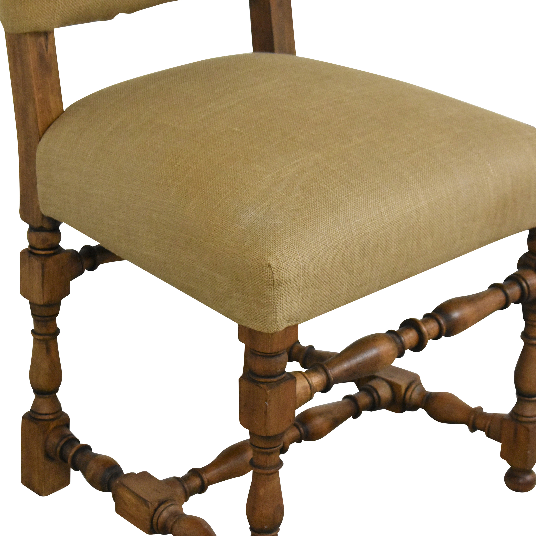 buy Restoration Hardware 1890 English Baroque Side Chair Restoration Hardware Chairs