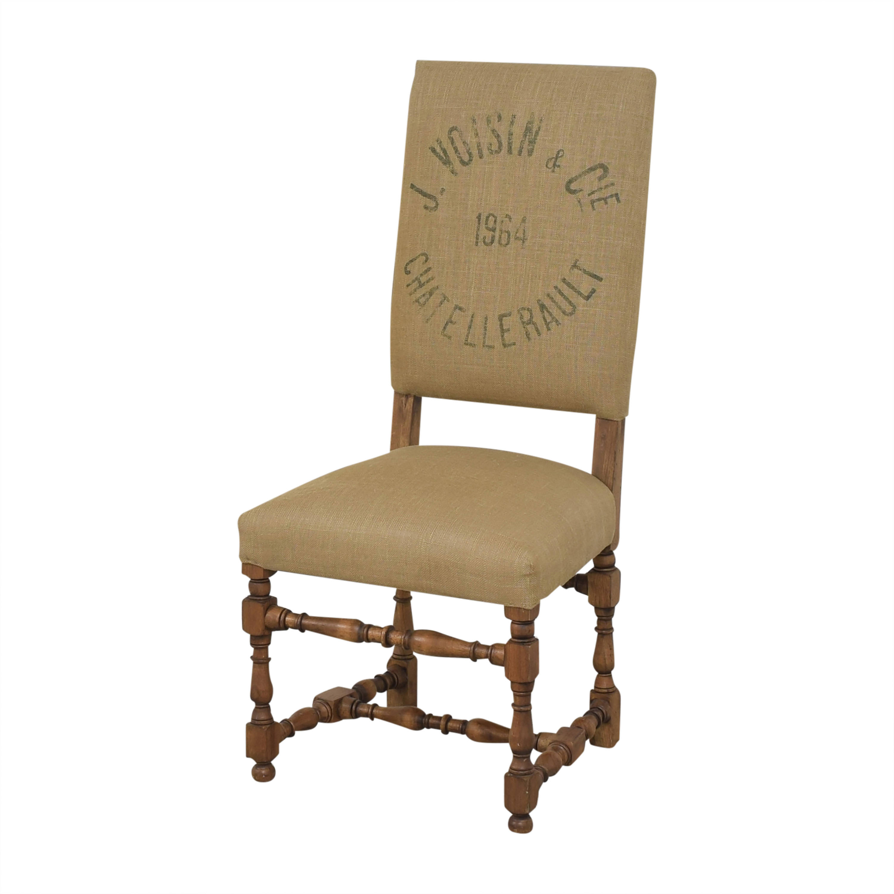 Restoration Hardware Restoration Hardware 1890 English Baroque Side Chair used