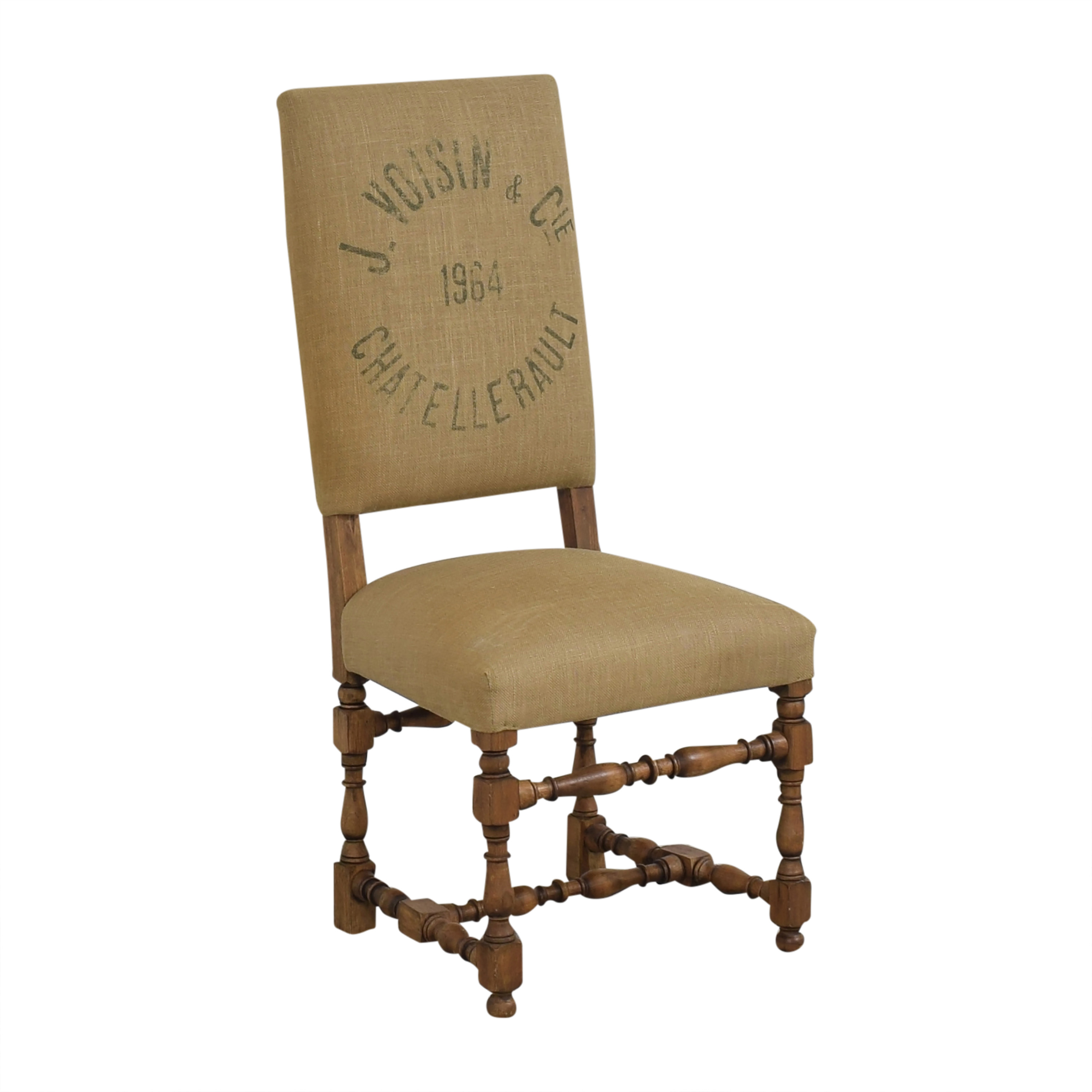 Restoration Hardware Restoration Hardware 1890 English Baroque Side Chair nyc