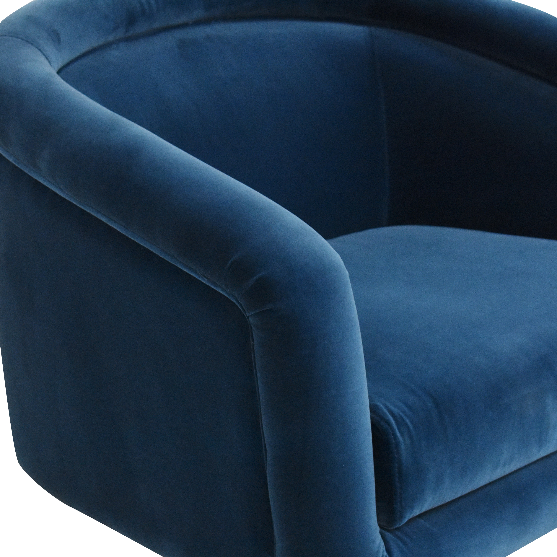 shop Jonathan Adler Bacharach Swivel Chair Jonathan Adler Chairs