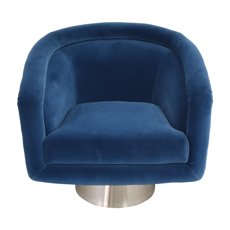 Jonathan Adler Jonathan Adler Bacharach Swivel Chair discount