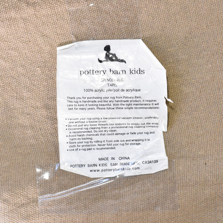 Pottery Barn Kids Spencer Area Rug / Decor