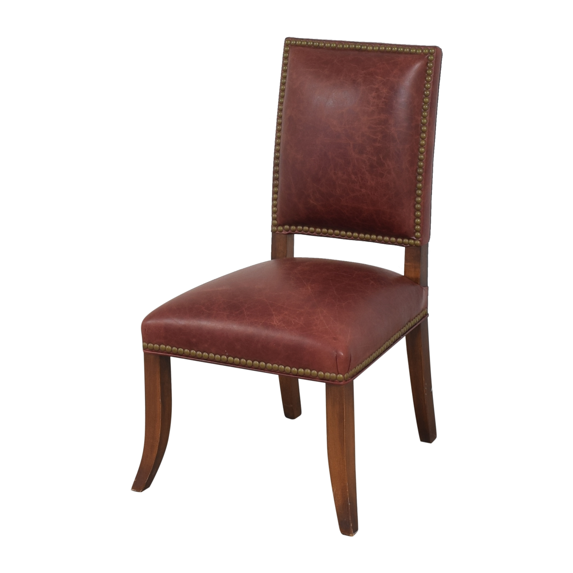 Ethan Allen Nailhead Dining Side Chairs / Chairs