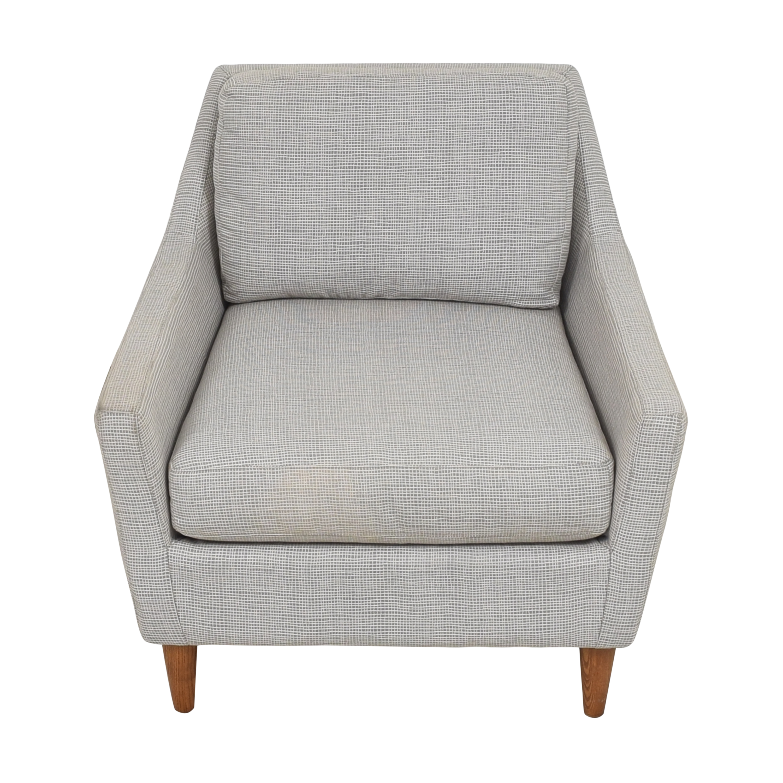 West Elm West Elm Everett Chair grey
