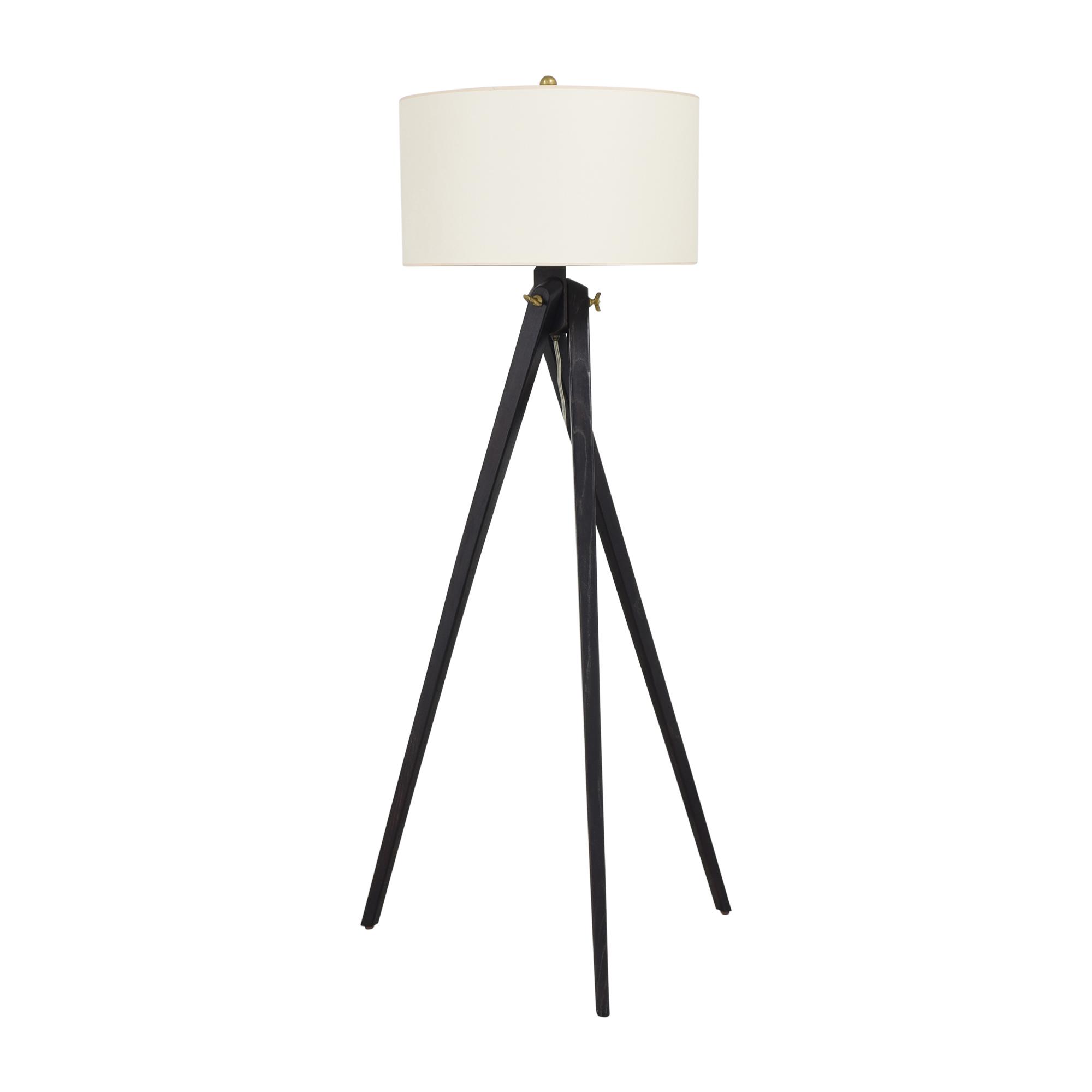 Visual Comfort Visual Comfort York Tripod Floor Lamp dimensions