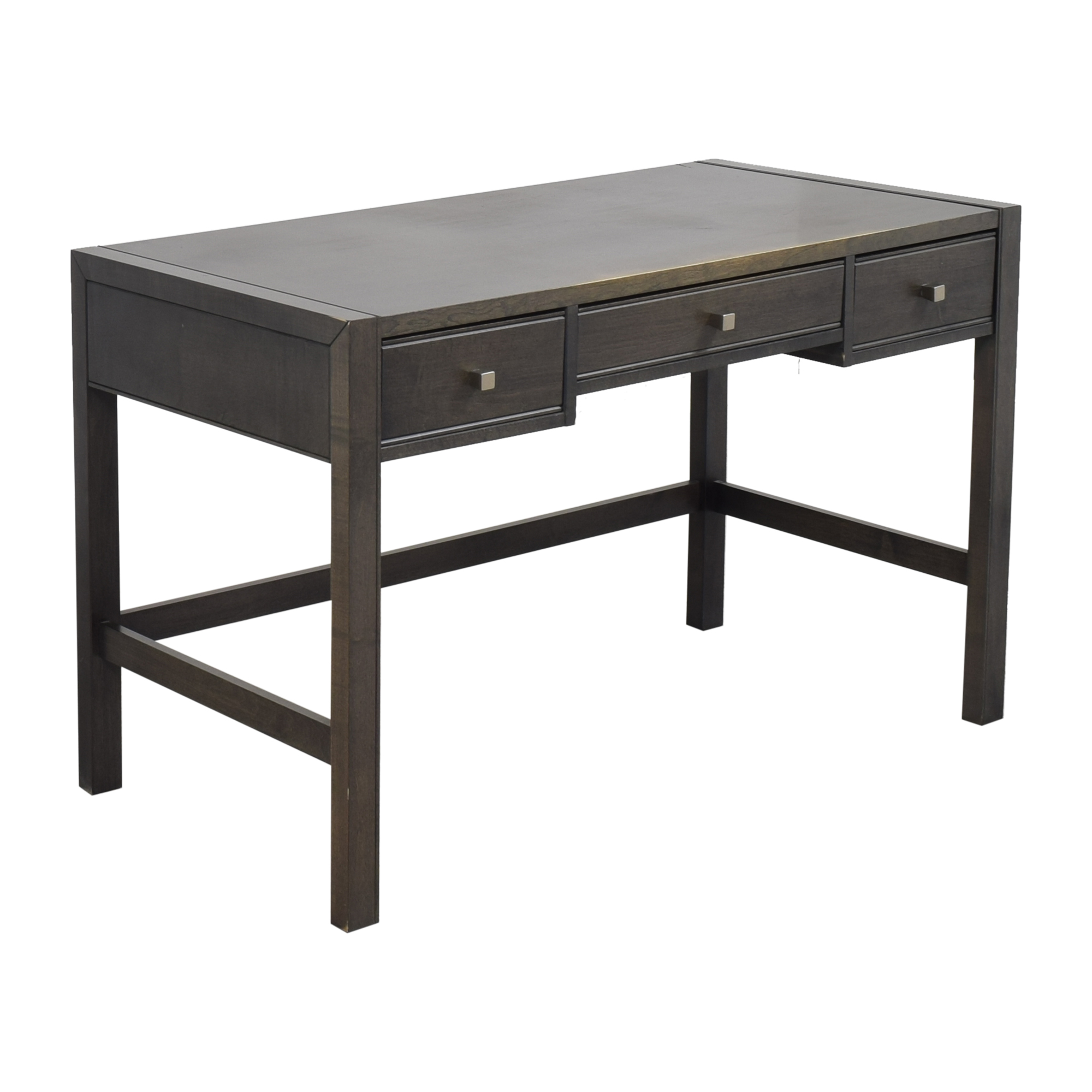 Baronet Baronet Canada Three Drawer Desk dark gray