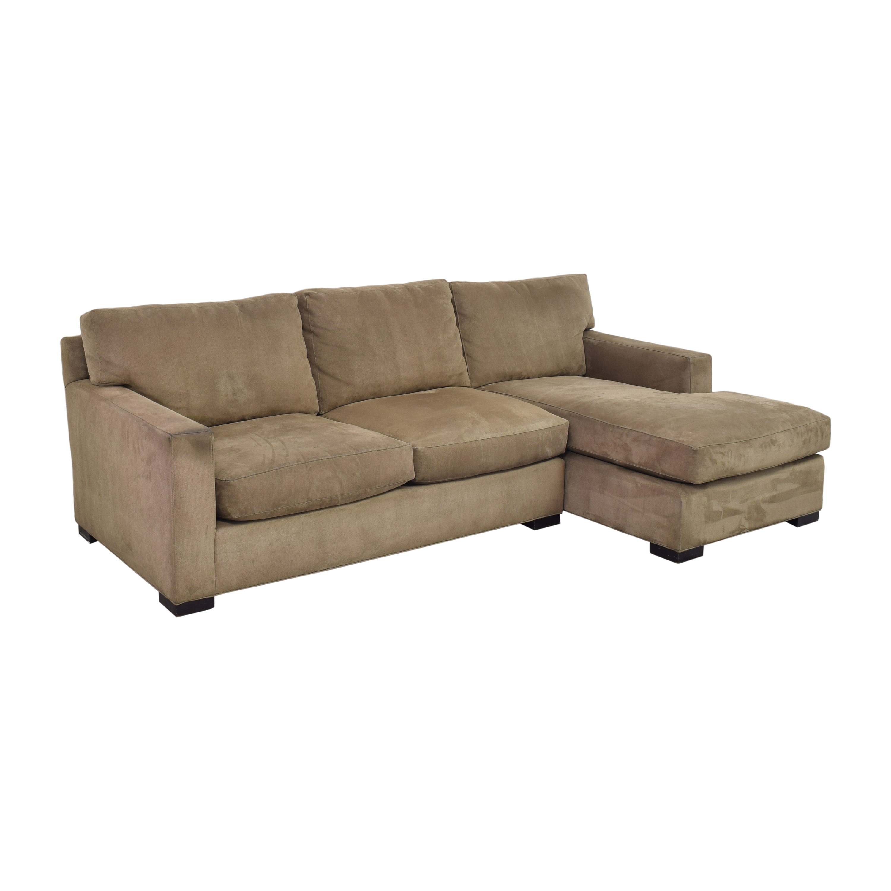 Crate & Barrel Crate & Barrel Axis II Chaise Sectional Sofa price