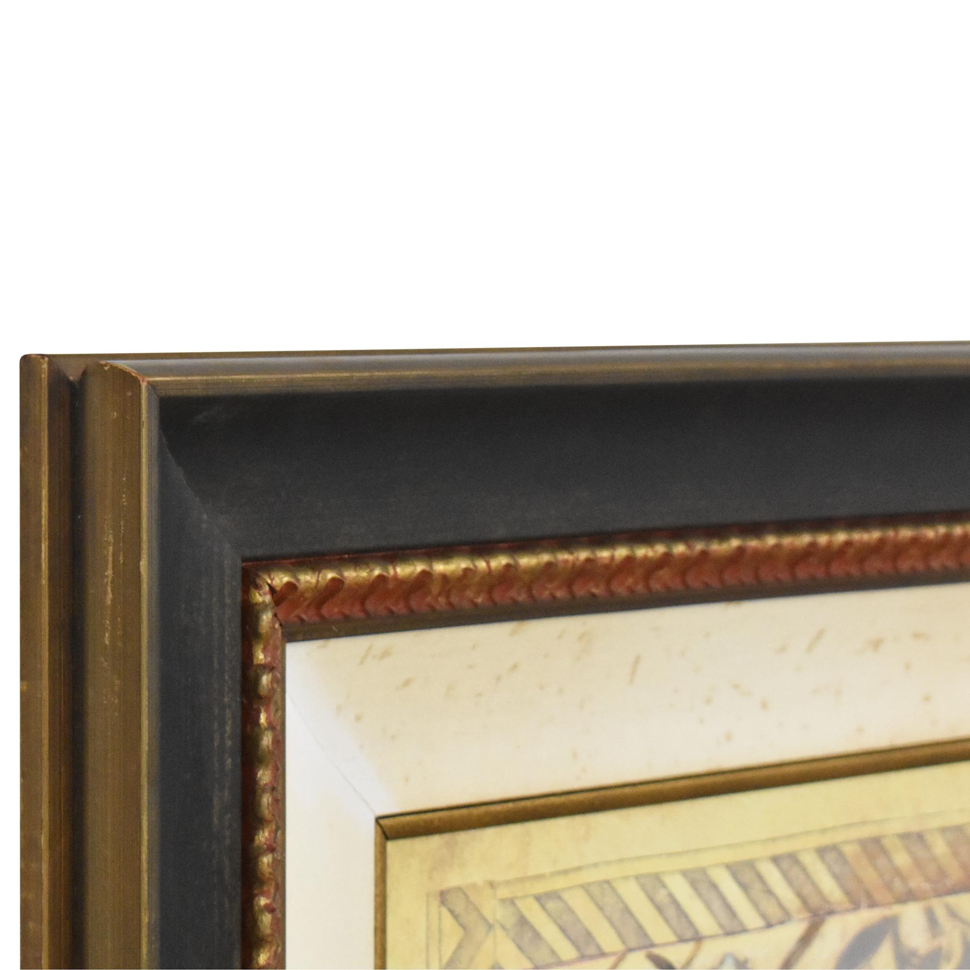 shop Ethan Allen Ethan Allen Garden Song Framed Wall Art online
