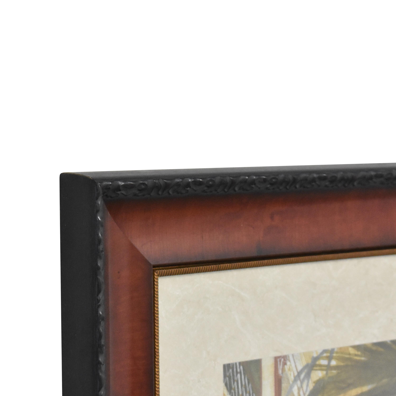 Ethan Allen Ethan Allen The Palm House Framed Wall Art discount