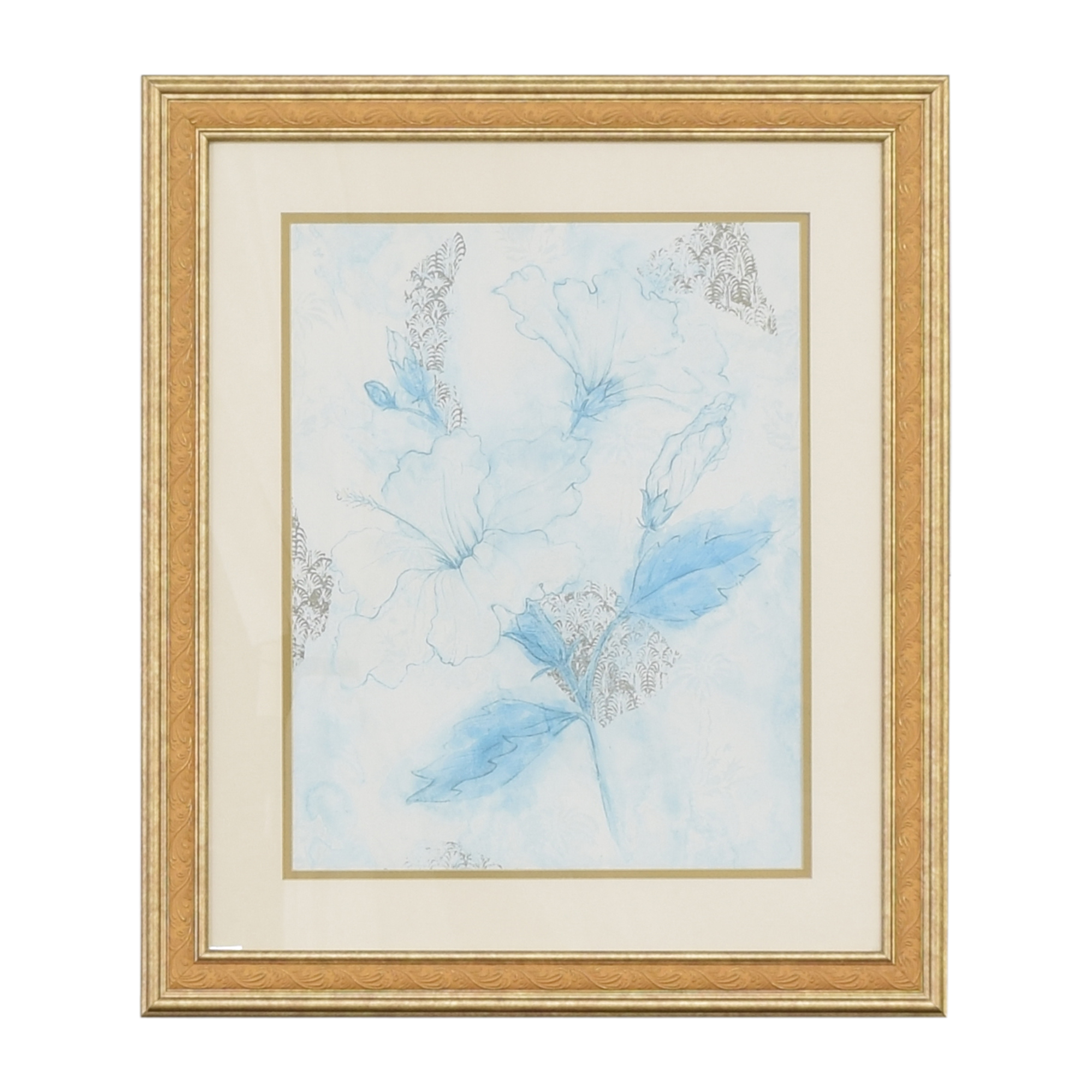 Ethan Allen Ethan Allen Framed Botanical Wall Art ct
