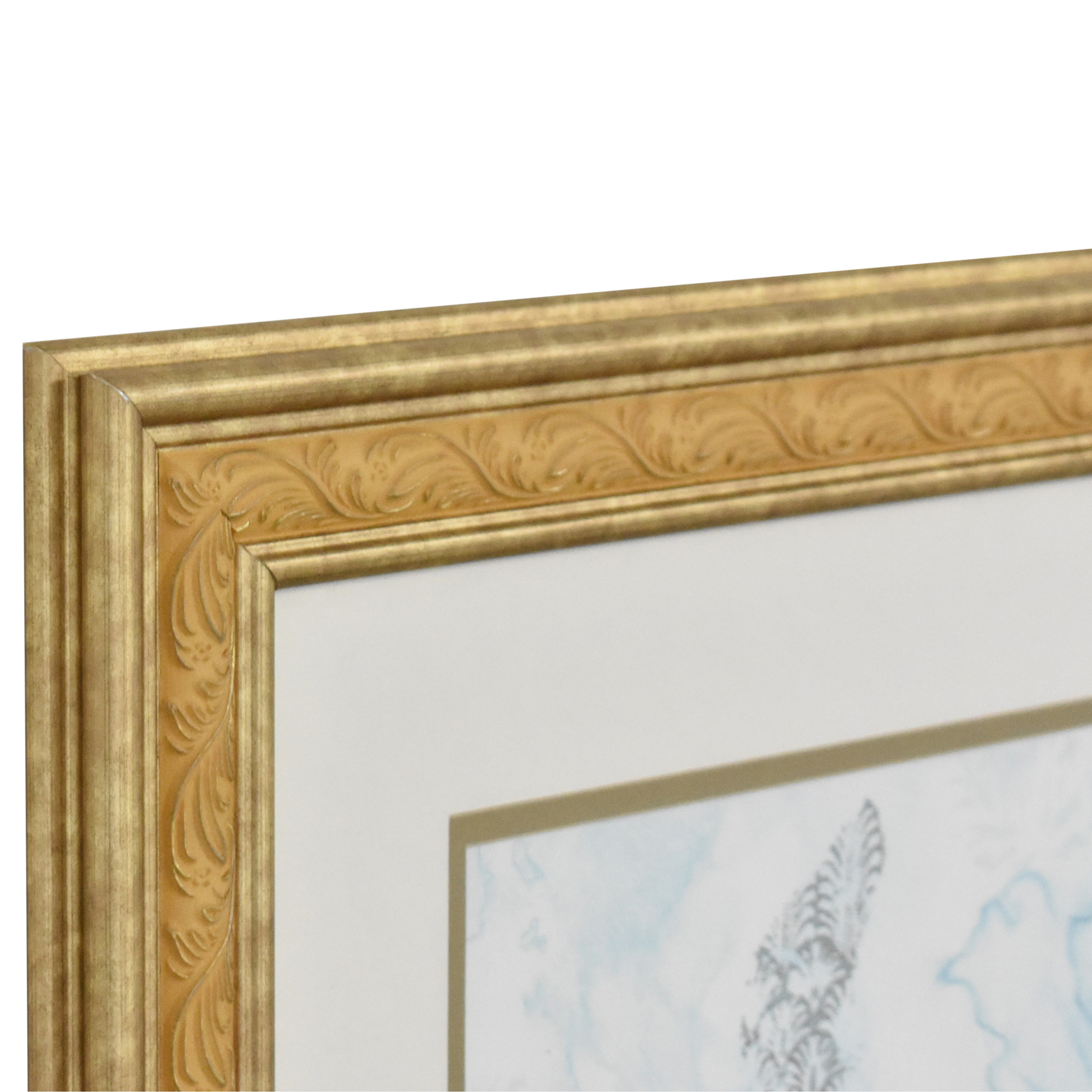Ethan Allen Ethan Allen Framed Botanical Wall Art for sale