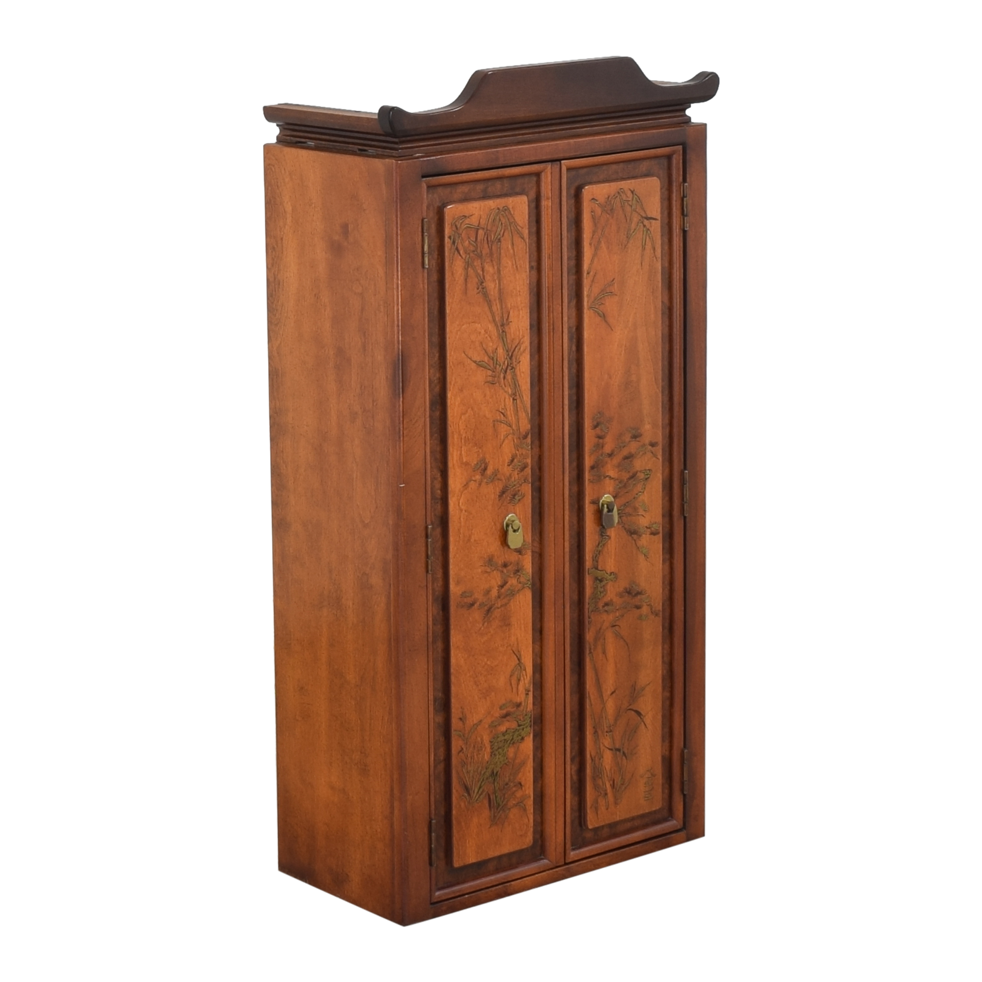 Chinoiserie Accent Cabinet pa
