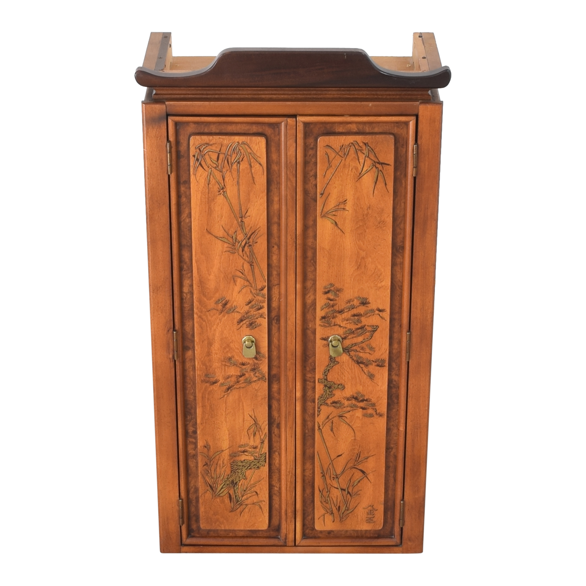 Chinoiserie Accent Cabinet
