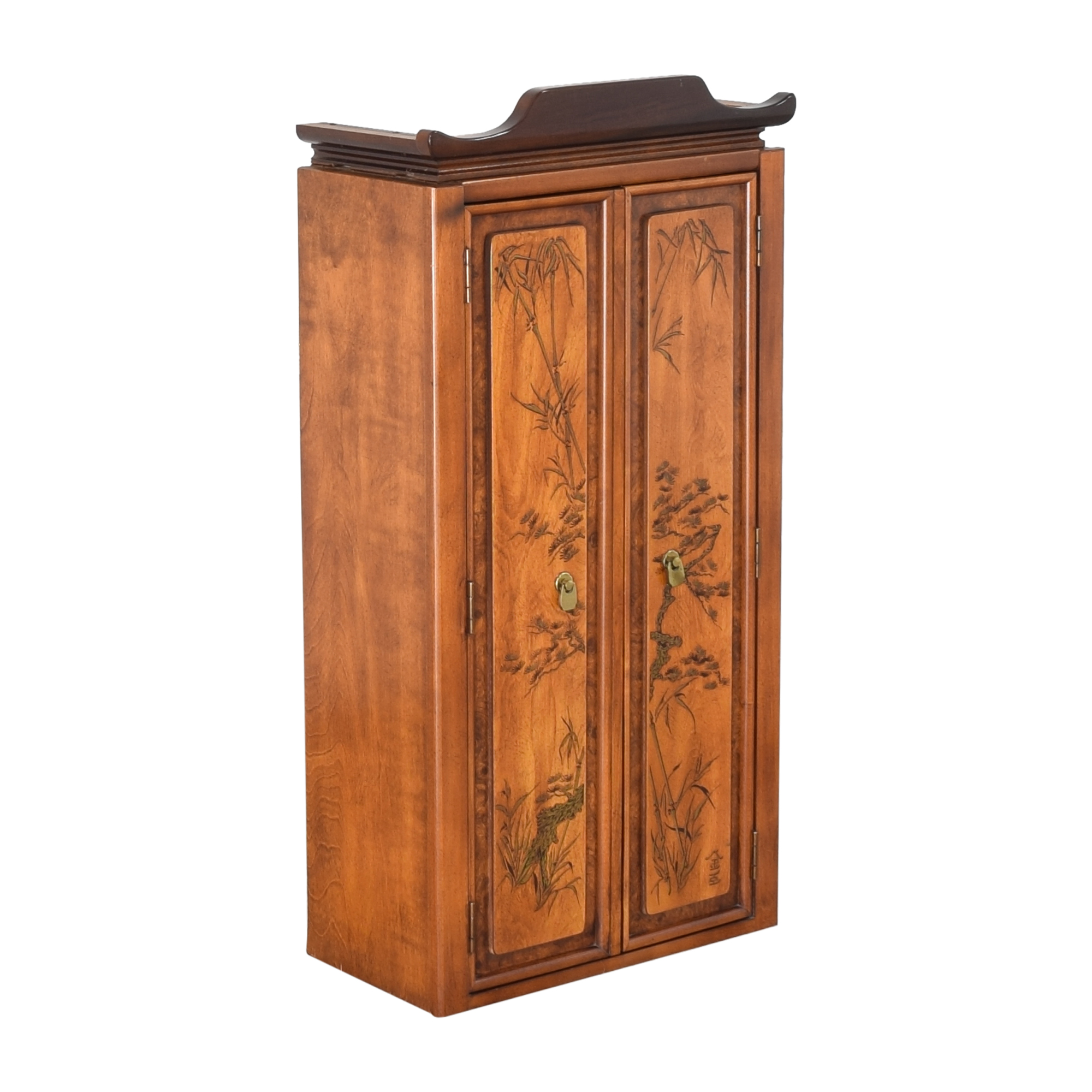 Chinoiserie Accent Cabinet for sale