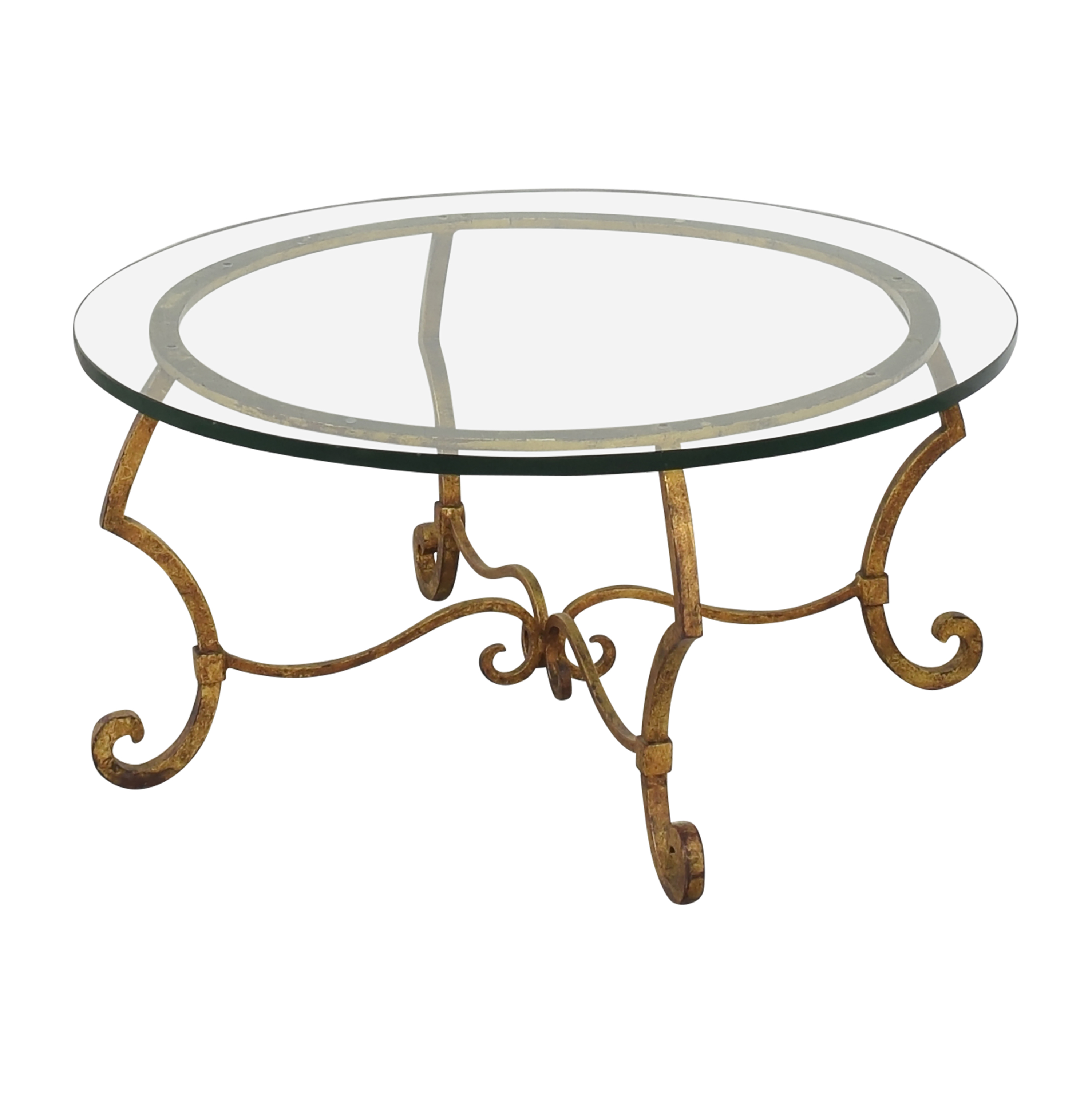 Round Top Coffee Table ct