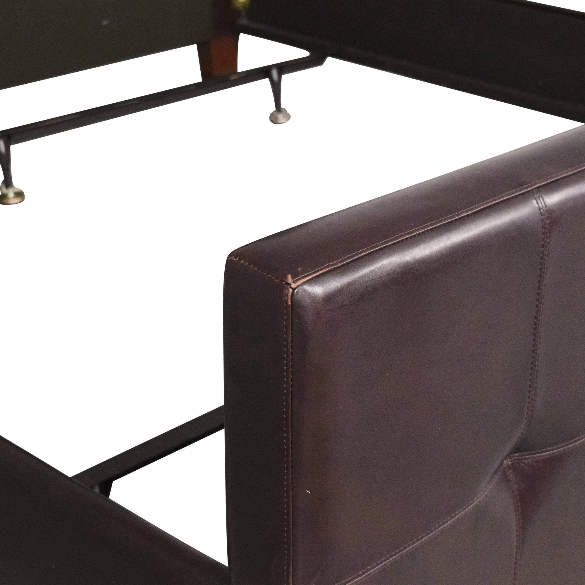 Crate & Barrel Crate & Barrel Tufted King Bed for sale