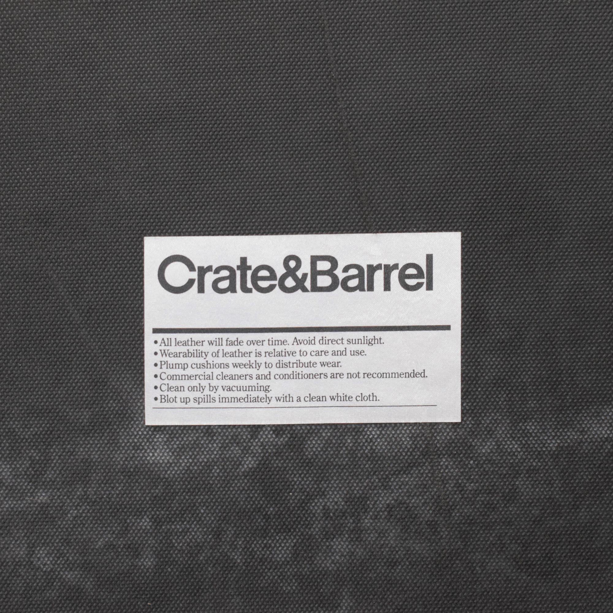 Crate & Barrel Crate & Barrel Tufted King Bed