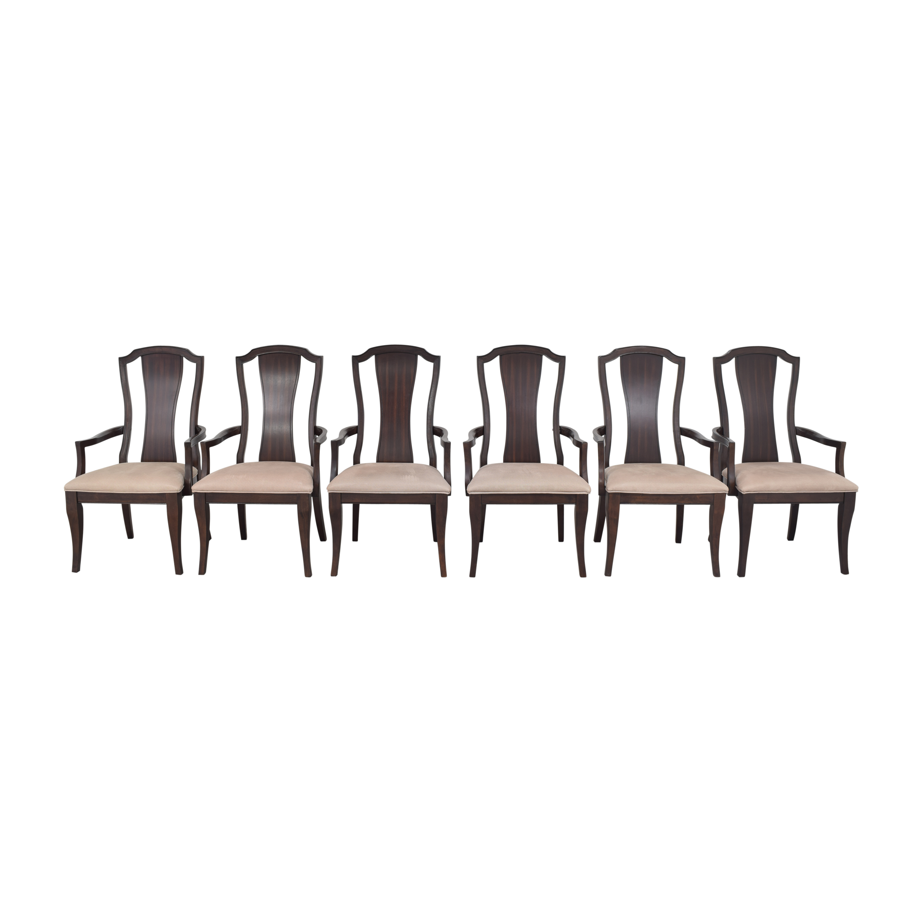 Legacy Classic Furniture Legacy Classic Dining Arm Chairs dark and light brown