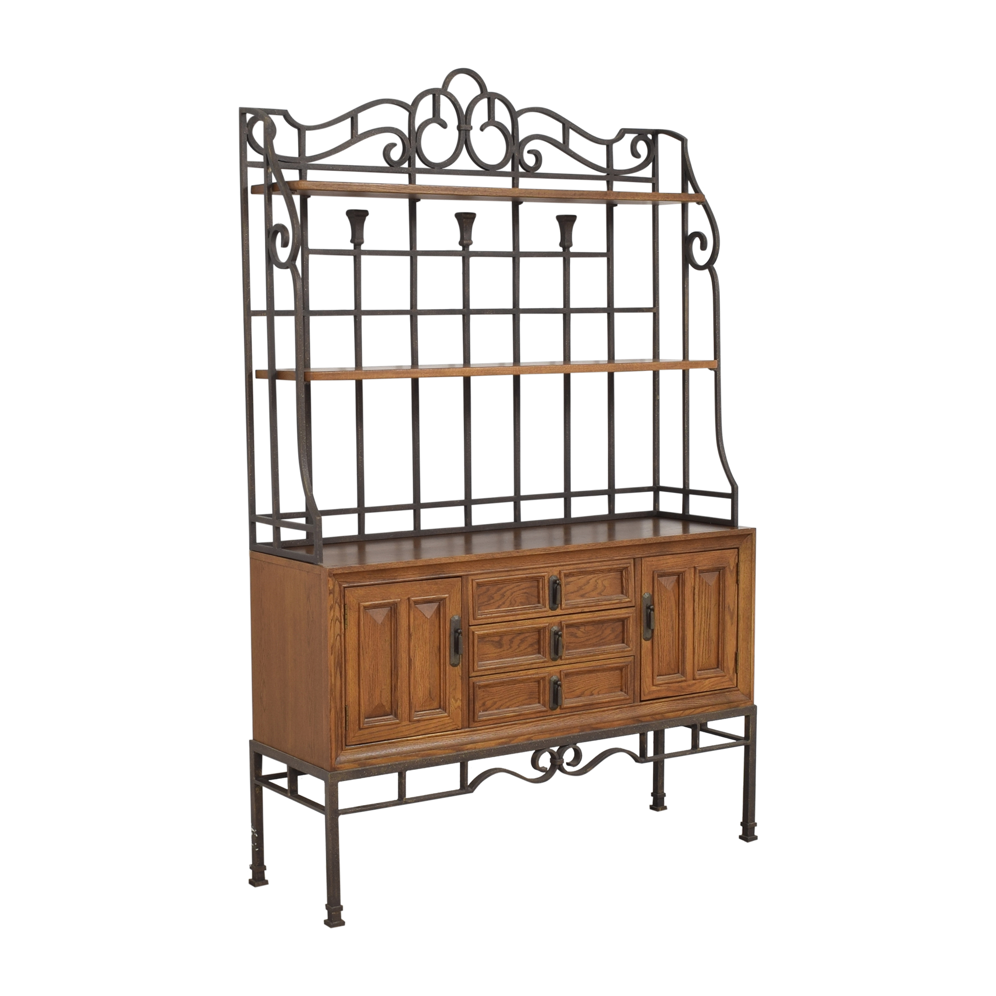 Stanley Furniture Server with Hutch / Cabinets & Sideboards