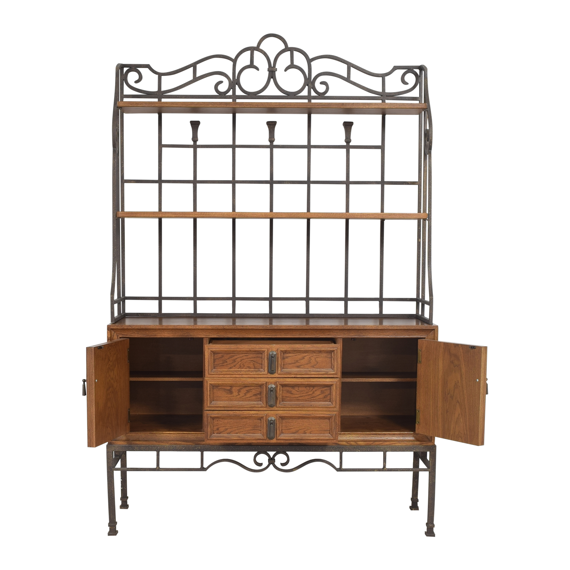 shop Stanley Furniture Server with Hutch Stanley Furniture Cabinets & Sideboards