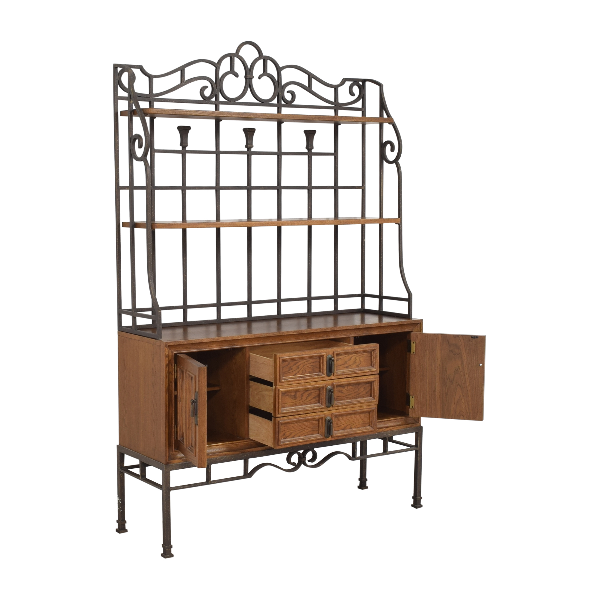 Stanley Furniture Stanley Furniture Server with Hutch ma