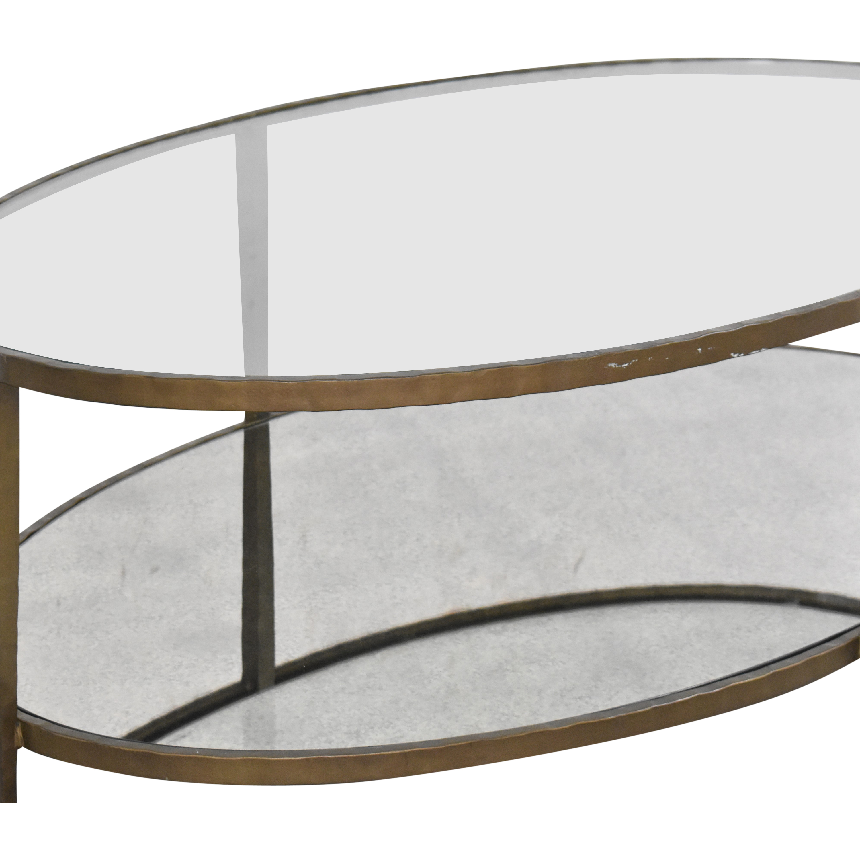 Crate & Barrel Crate & Barrel Clairemont Oval Coffee Table coupon