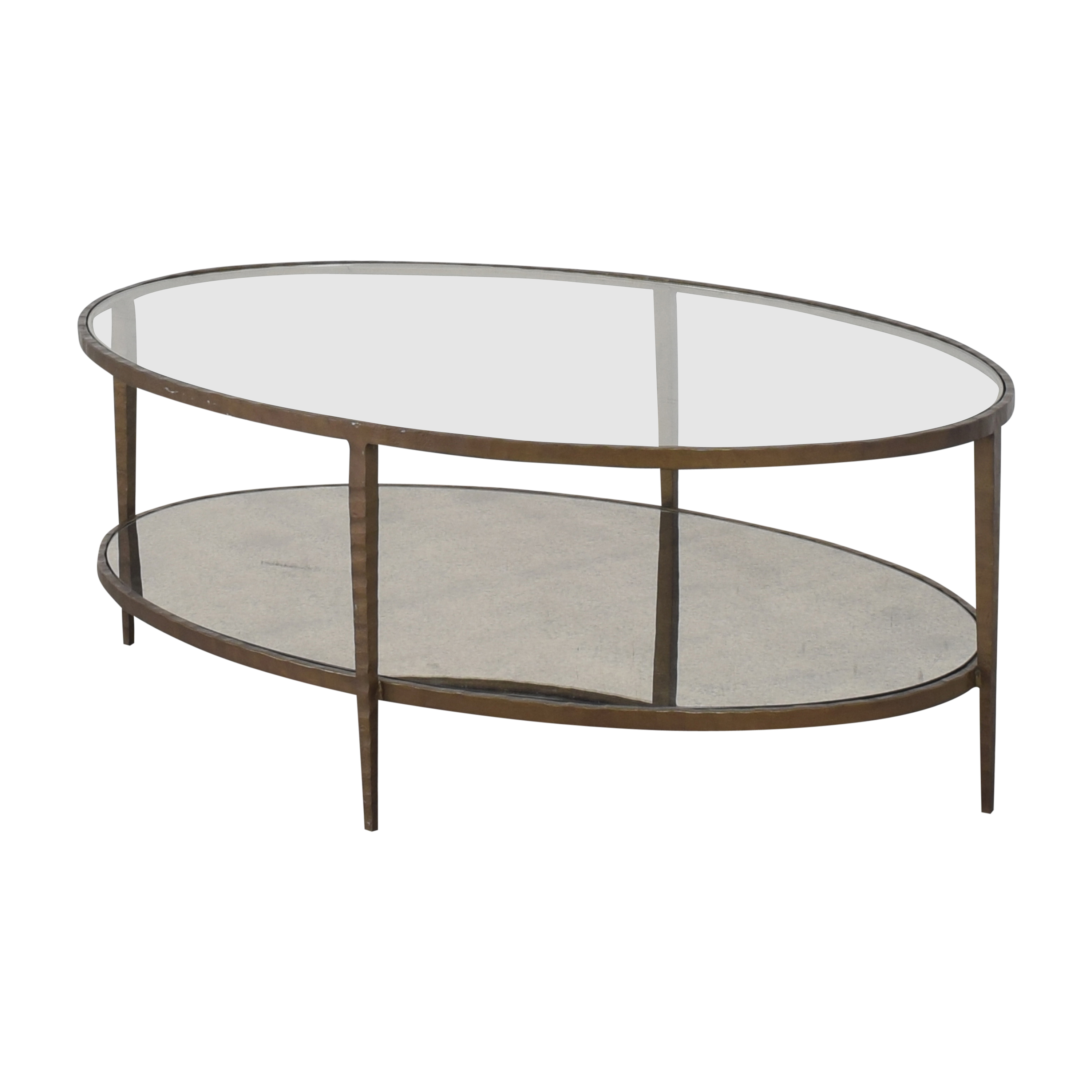 Crate & Barrel Crate & Barrel Clairemont Oval Coffee Table Coffee Tables
