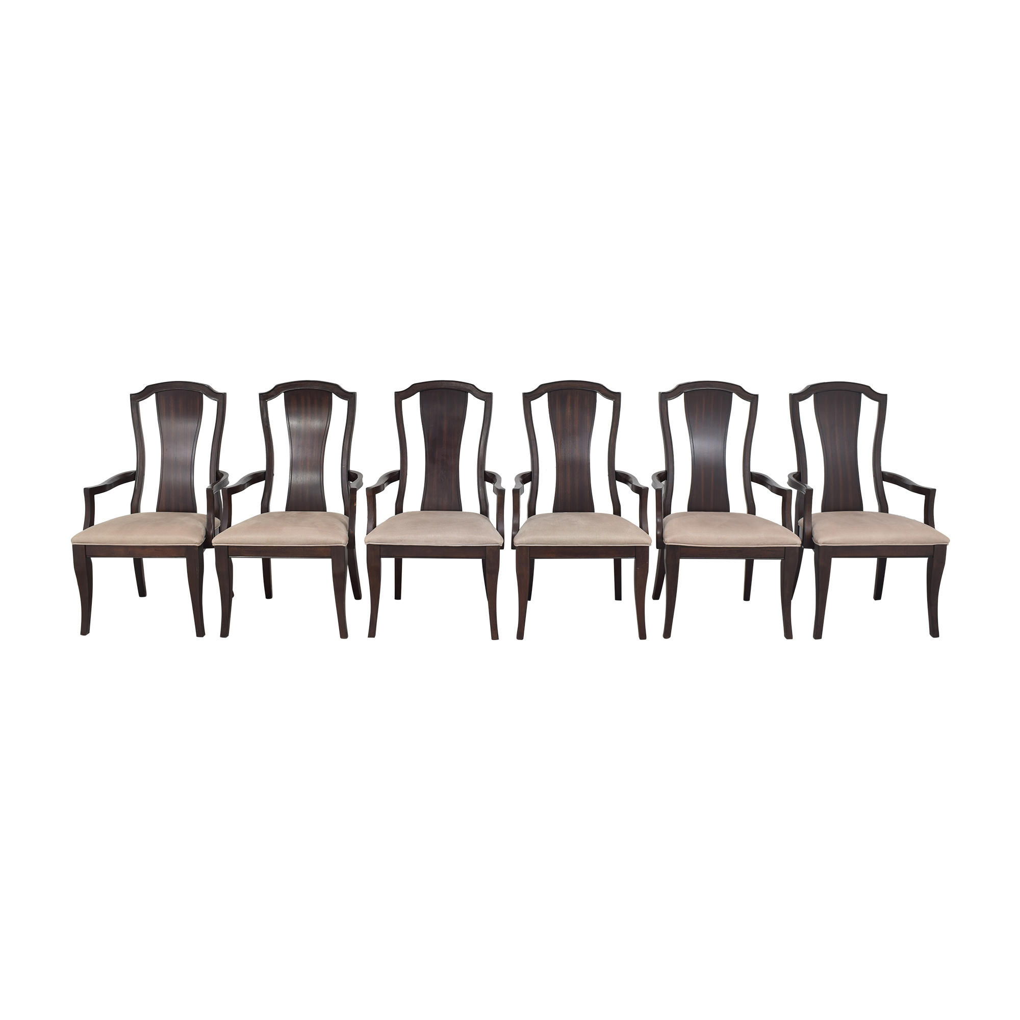 Legacy Classic Furniture Legacy Classic Dining Arm Chairs light and dark brown