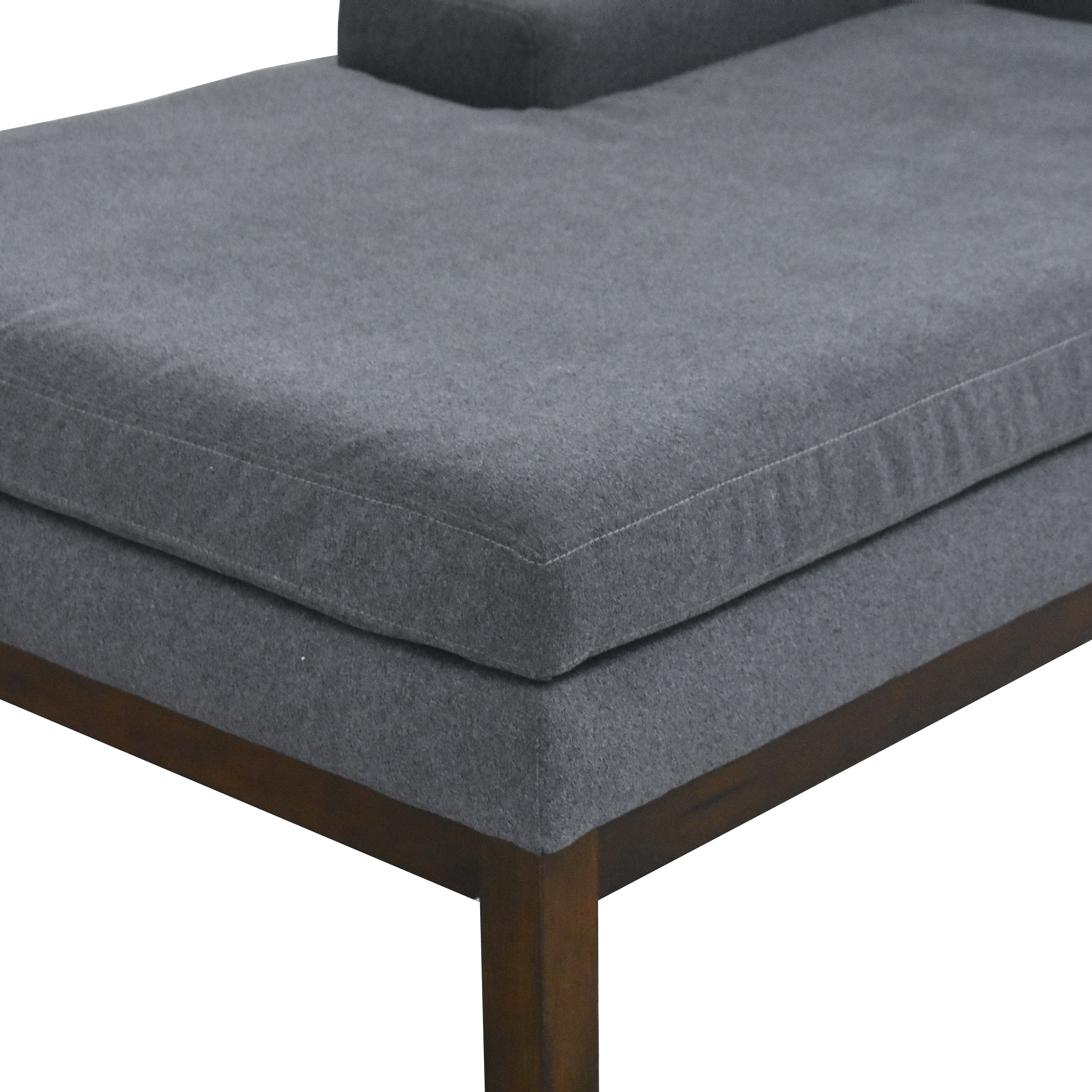 Pottery Barn Modern Chaise Lounge / Chaises