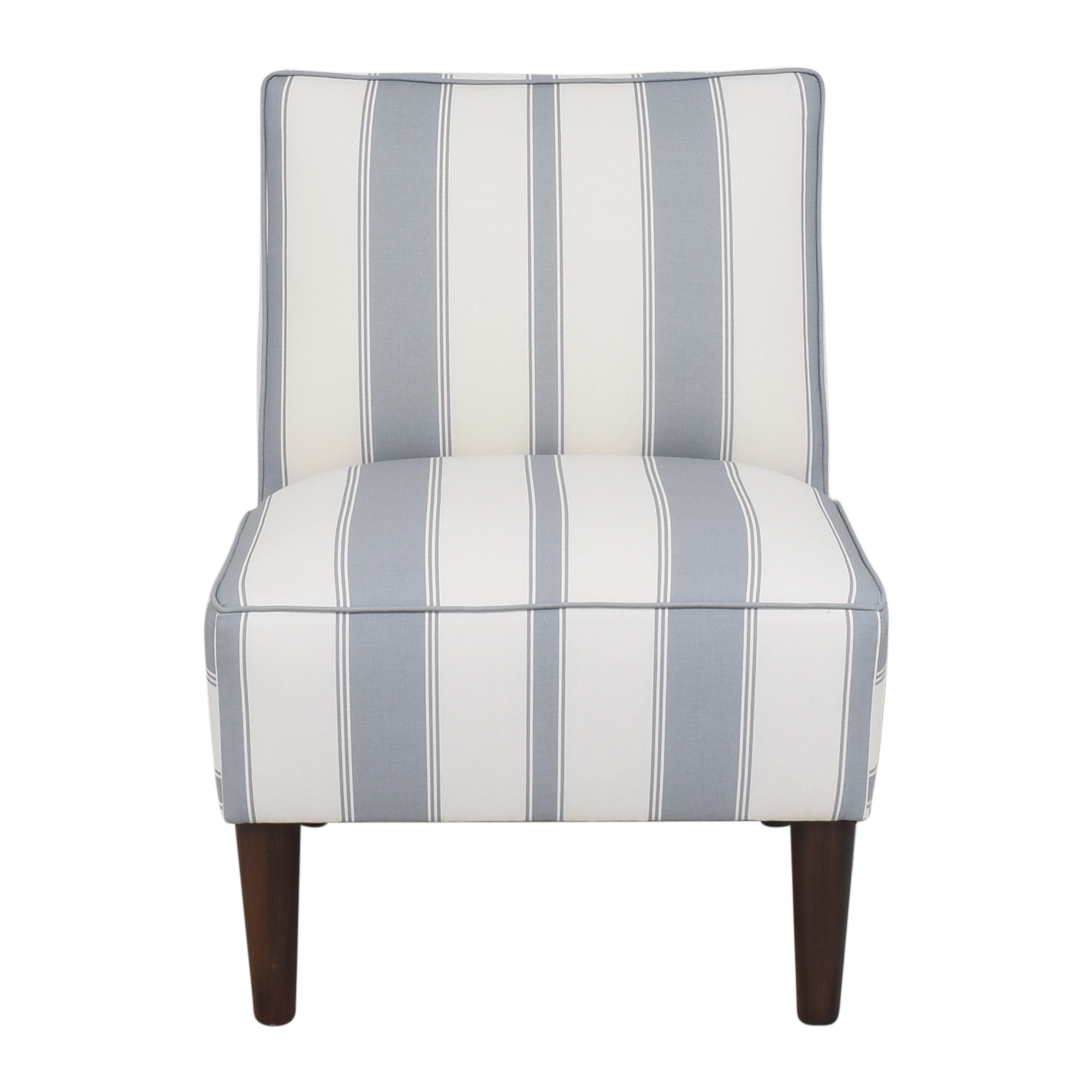 The Inside The Inside Clarence Stripe Slipper Chair nj