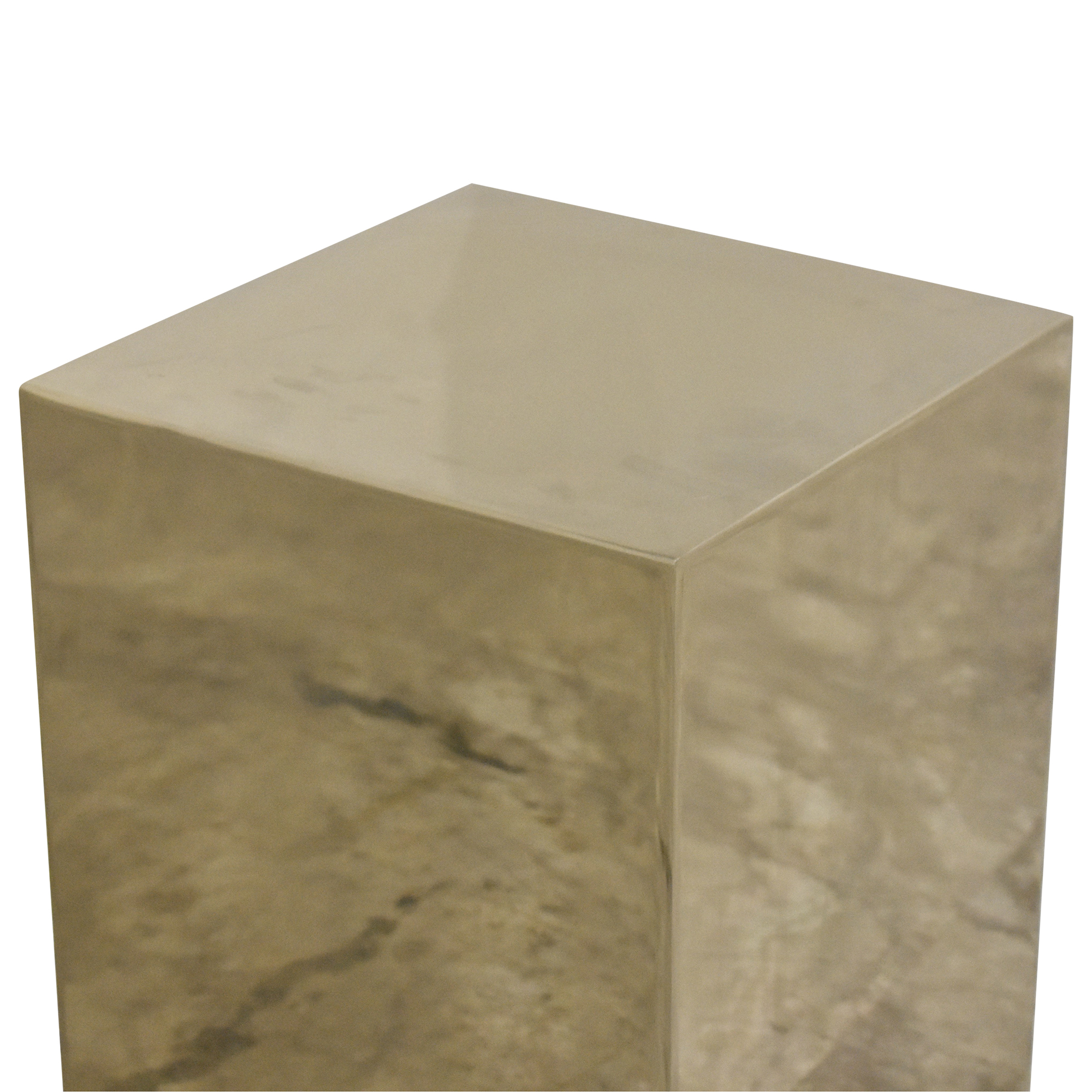 CB2 CB2 Cube Side Table on sale