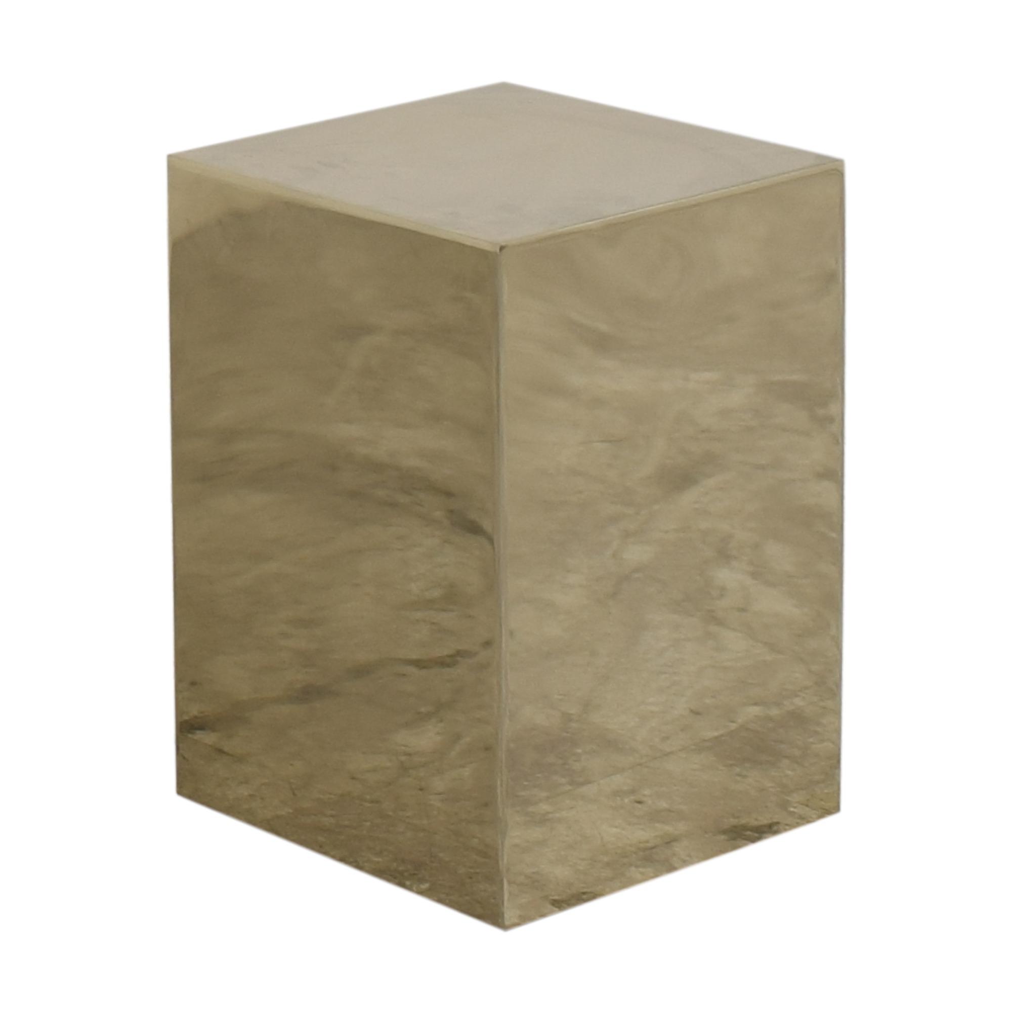 buy CB2 Cube Side Table CB2 Accent Tables