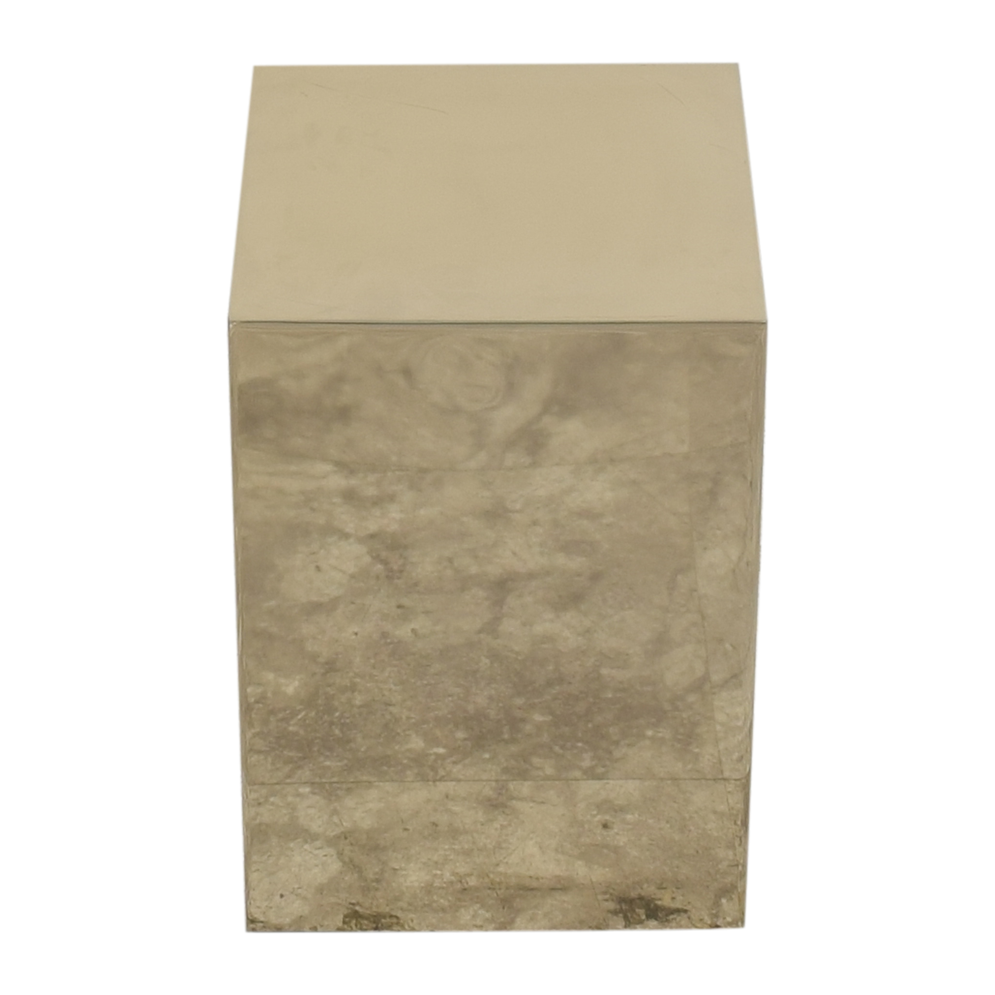 buy CB2 Cube Side Table CB2 Tables