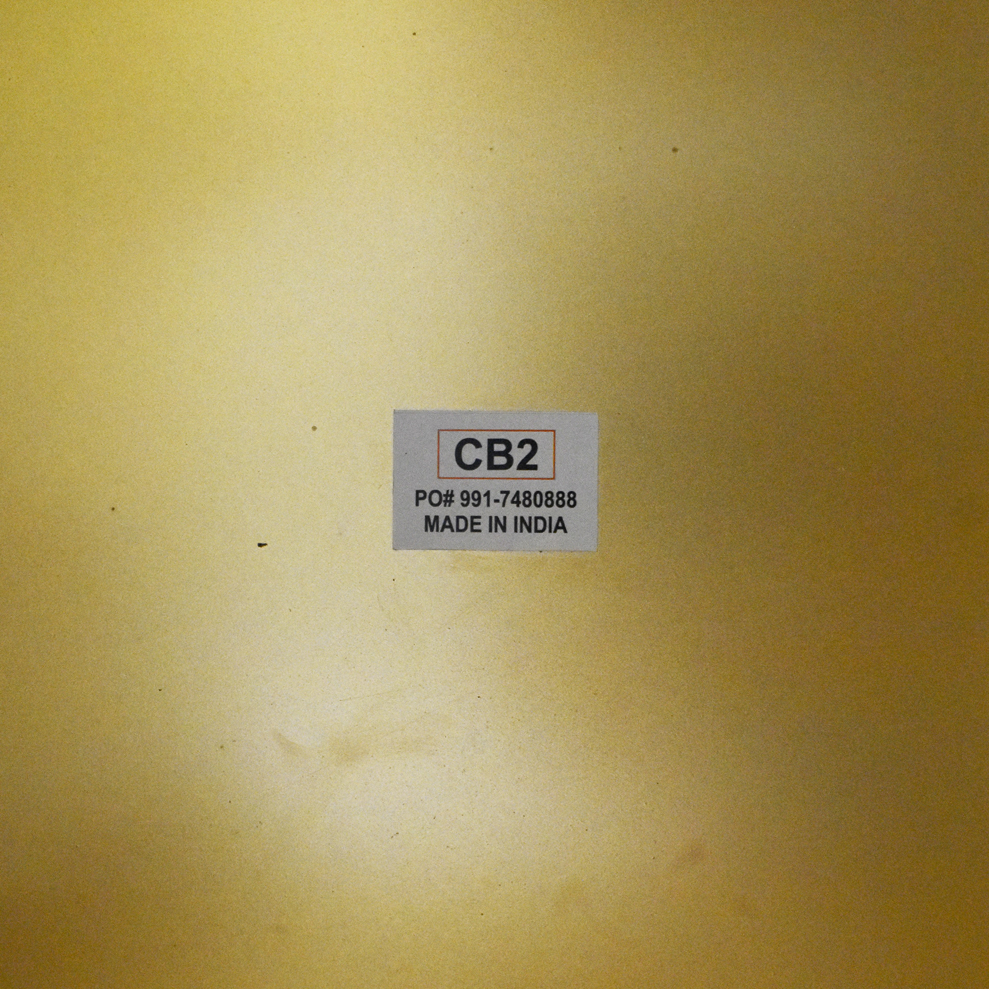 CB2 CB2 Cube Side Table second hand