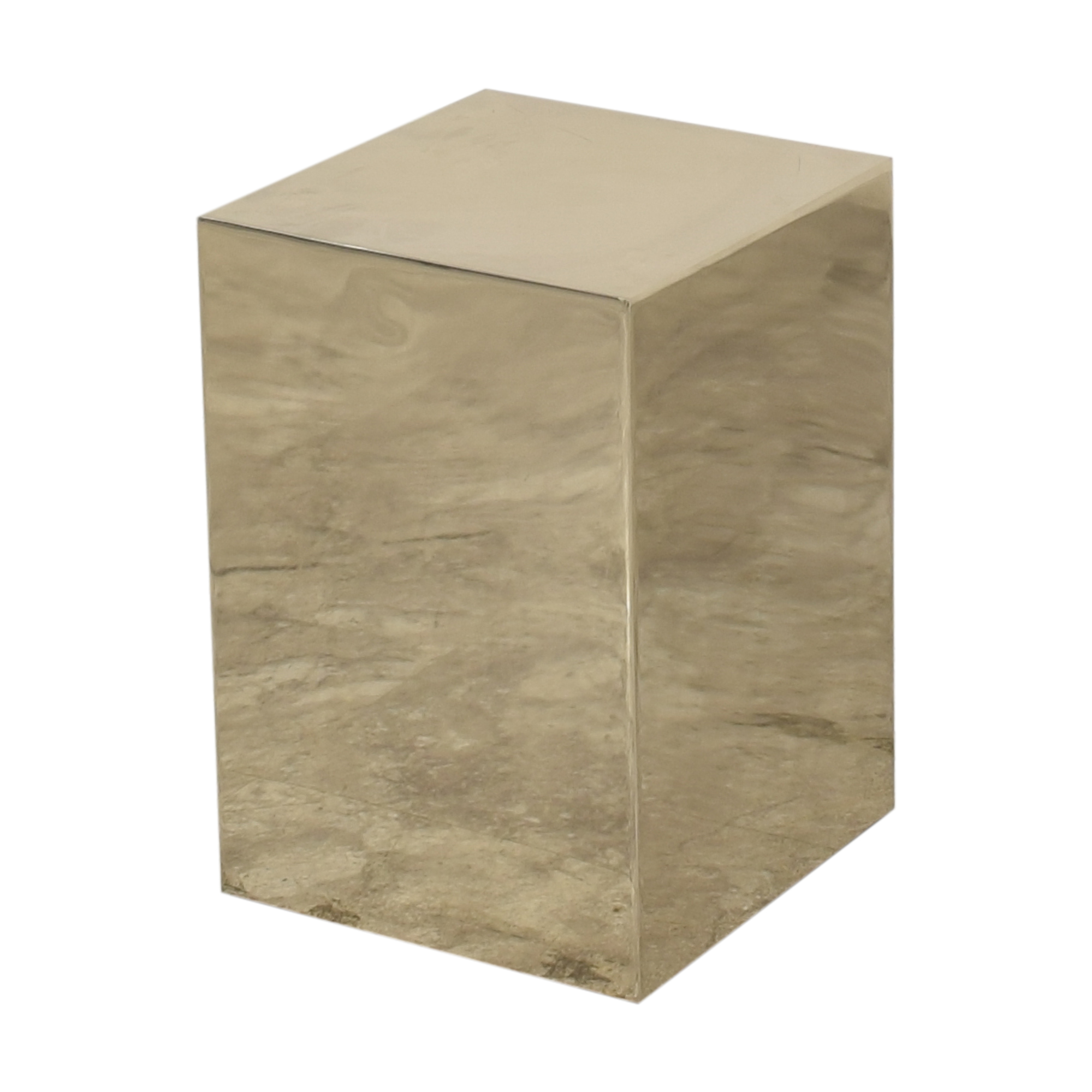 CB2 Cube Side Table sale