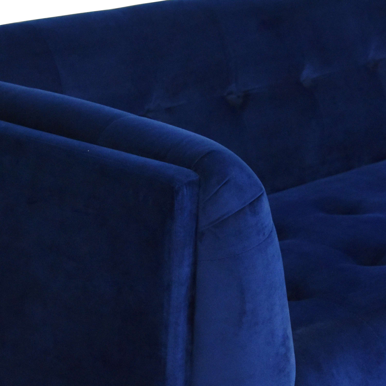 shop Wayfair Tufted Bench Cushion Sofa Wayfair