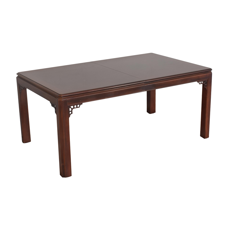 shop Drexel Chippendale Extendable Dining Table Drexel Tables