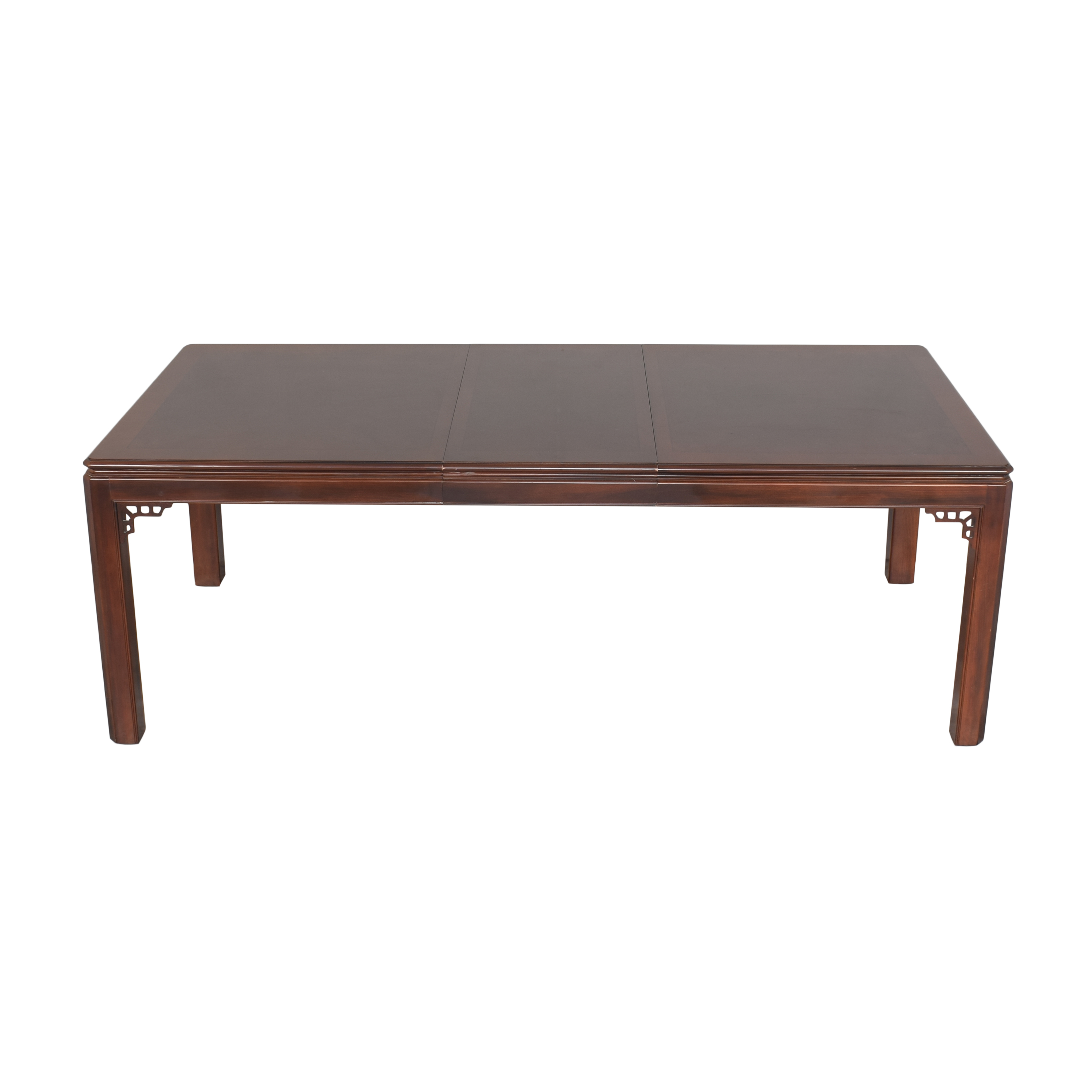 Drexel Drexel Chippendale Extendable Dining Table ma