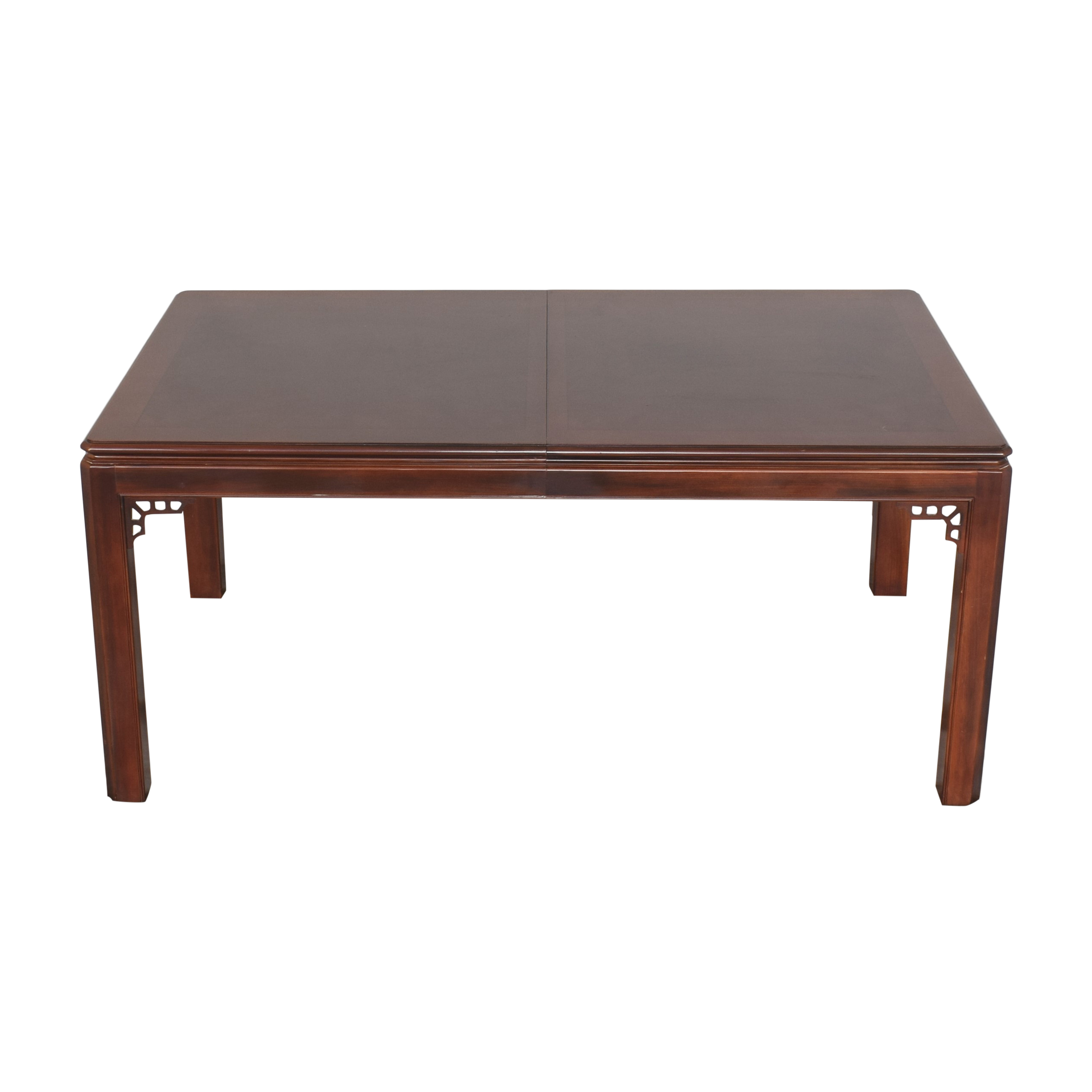Drexel Chippendale Extendable Dining Table Drexel