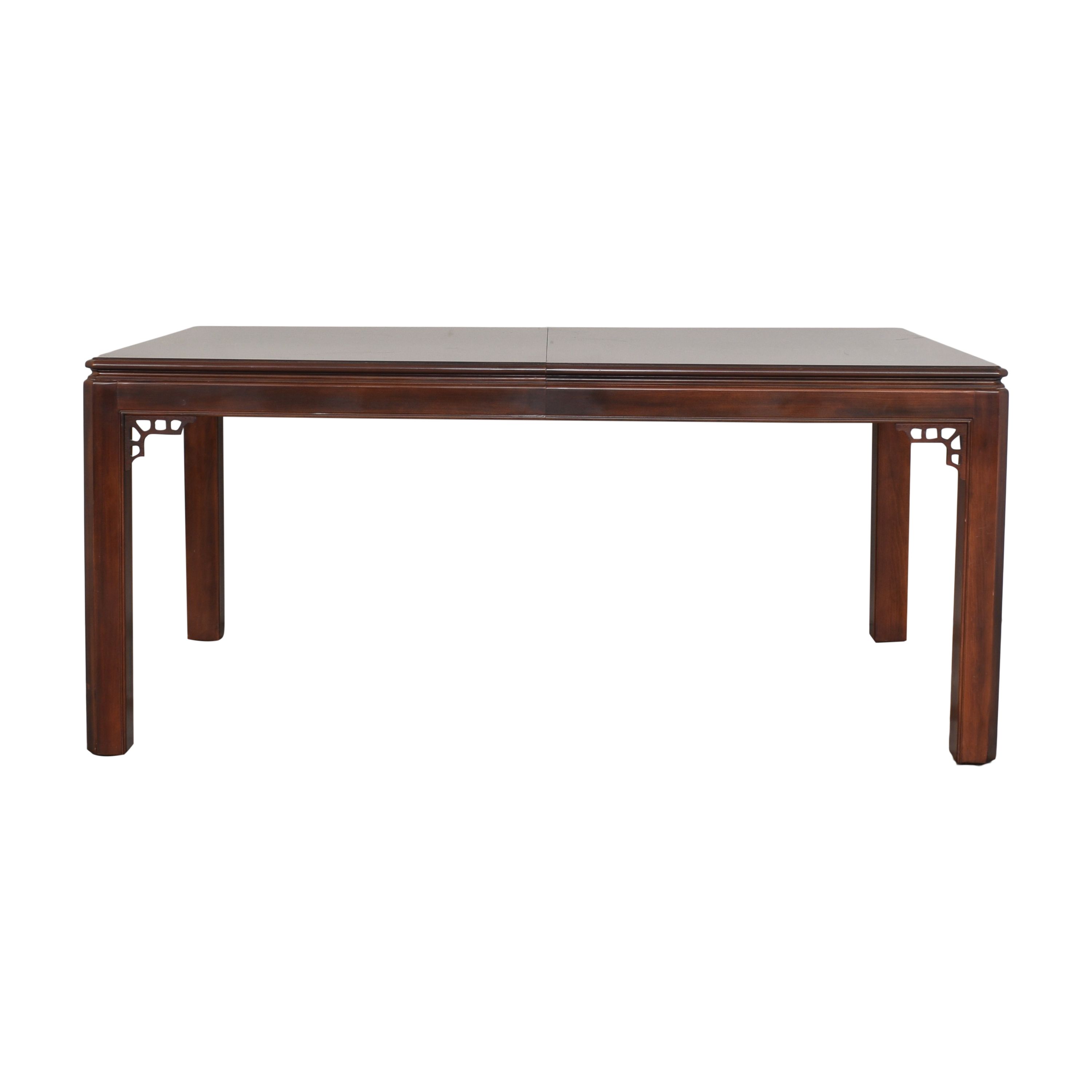 Drexel Drexel Chippendale Extendable Dining Table on sale