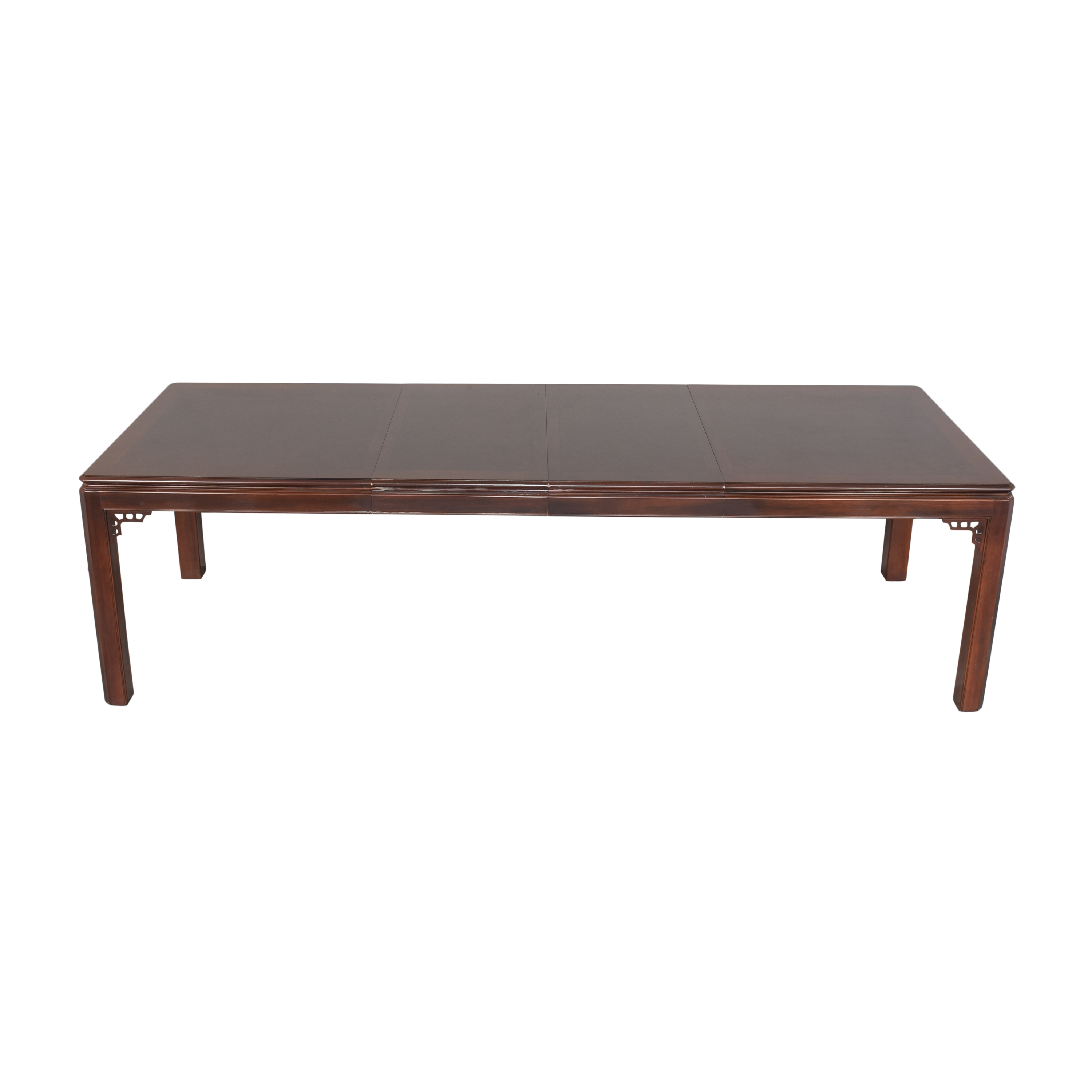 Drexel Chippendale Extendable Dining Table / Dinner Tables