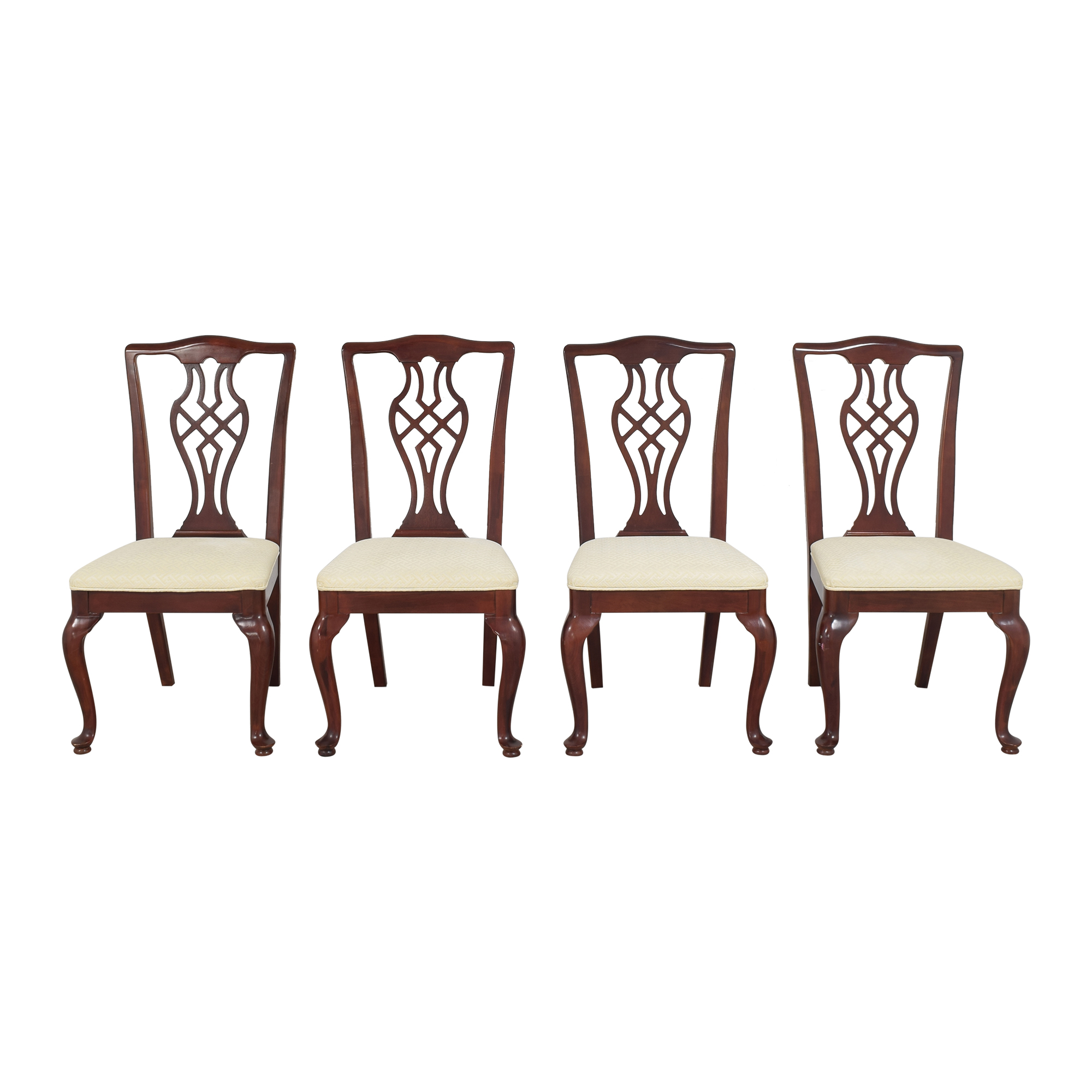 Drexel Heritage Drexel Heritage Chippendale Dining Chairs for sale