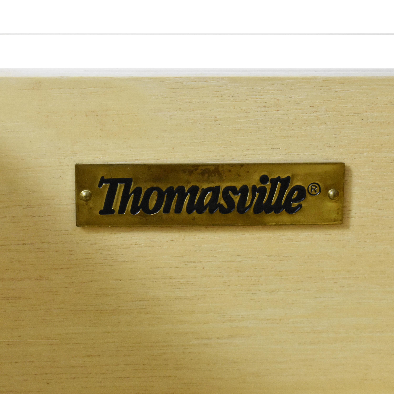 Thomasville Thomasville Three Drawer Chest brown & beige