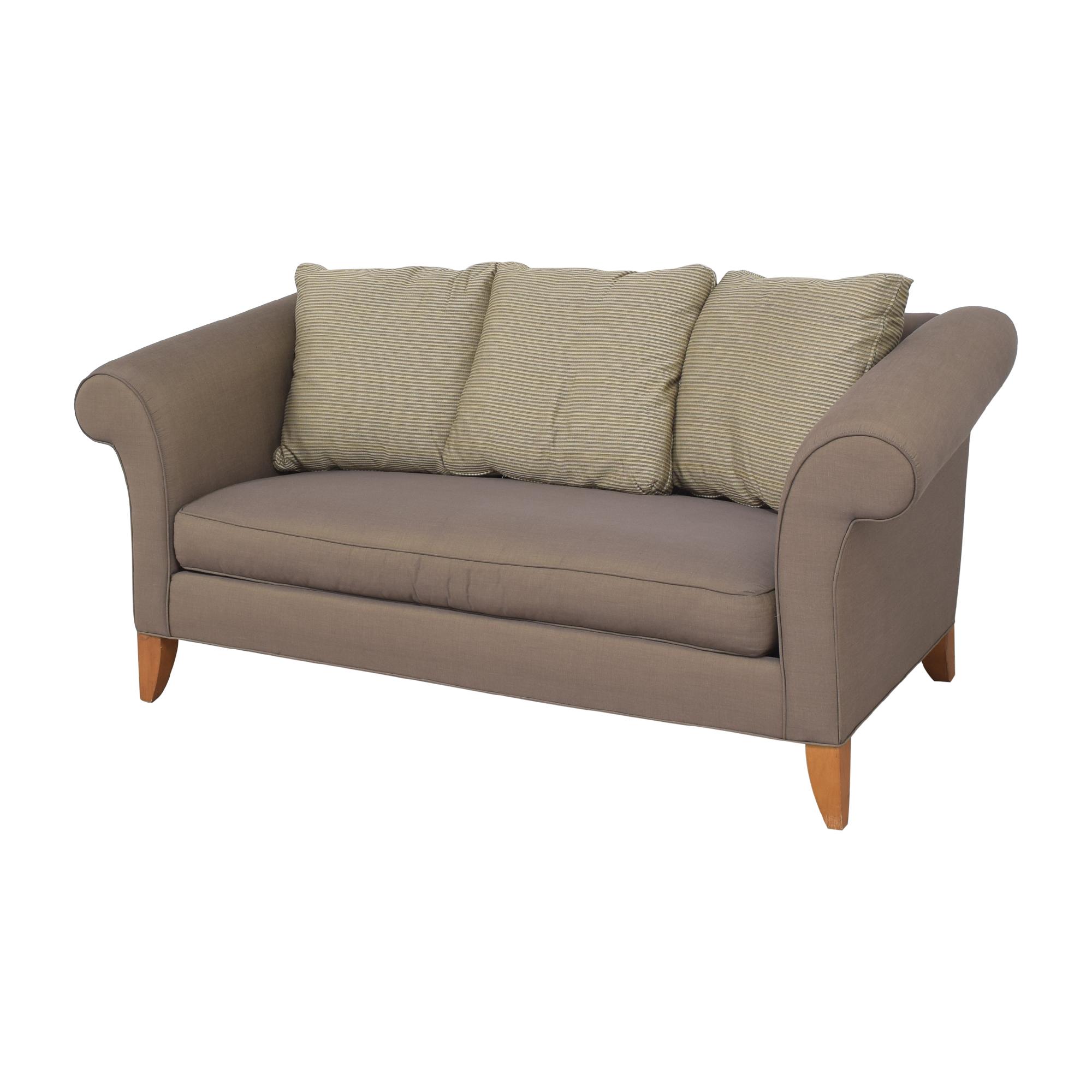 Ethan Allen Ethan Allen Shelter Sofa dimensions
