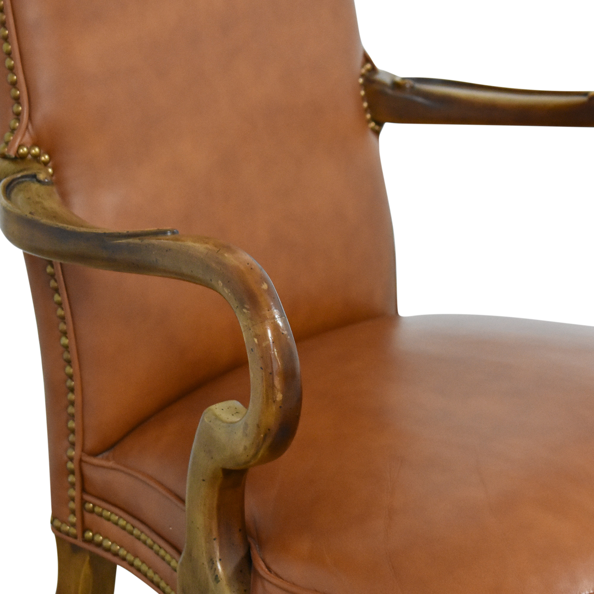 Century Chair Company Century Chair Company High Back Arm Chair on sale