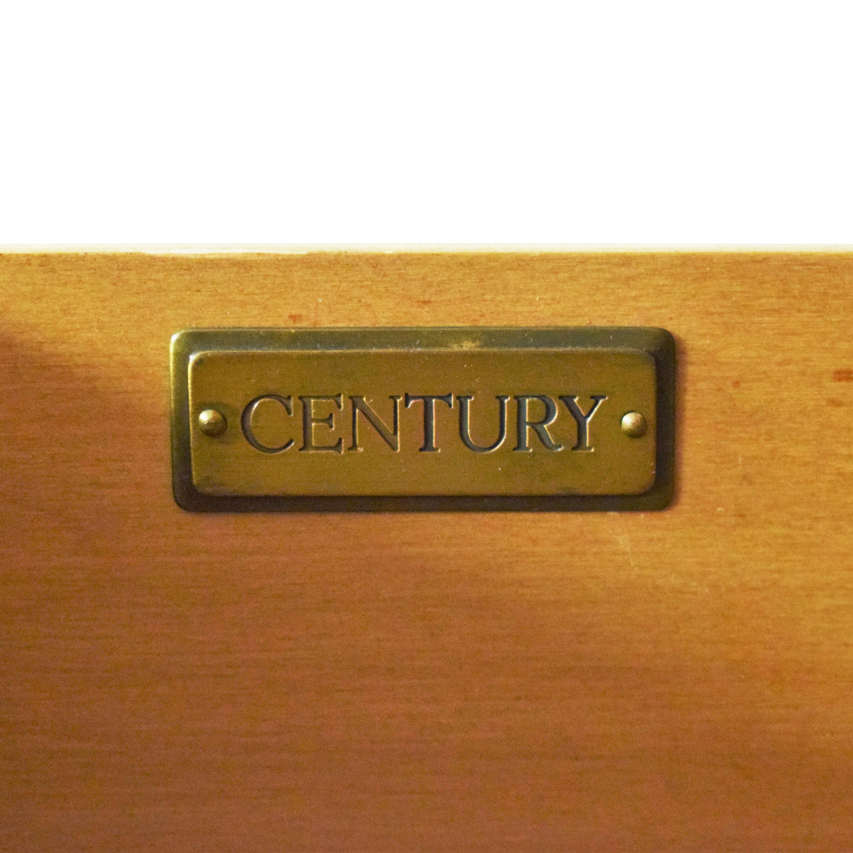 Century Furniture Two Door Armoire Century Furniture